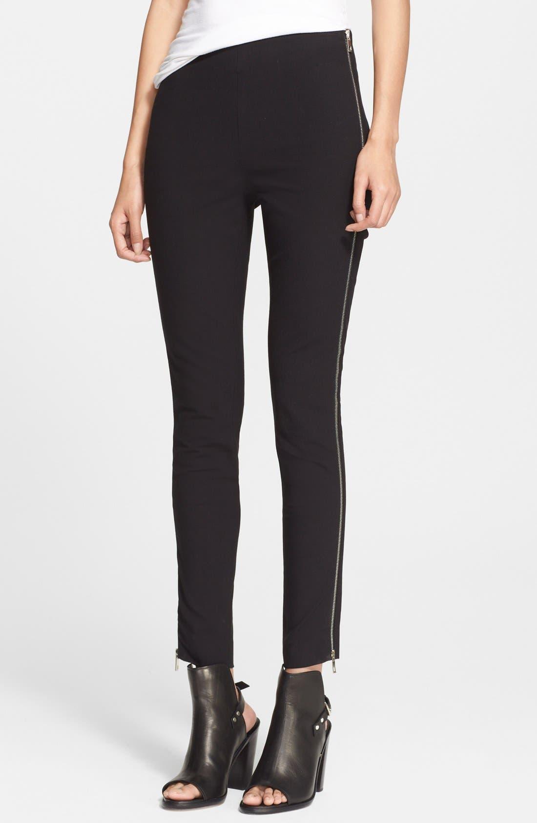 Alternate Image 1 Selected - rag & bone 'Chatel' Side Zip Pants