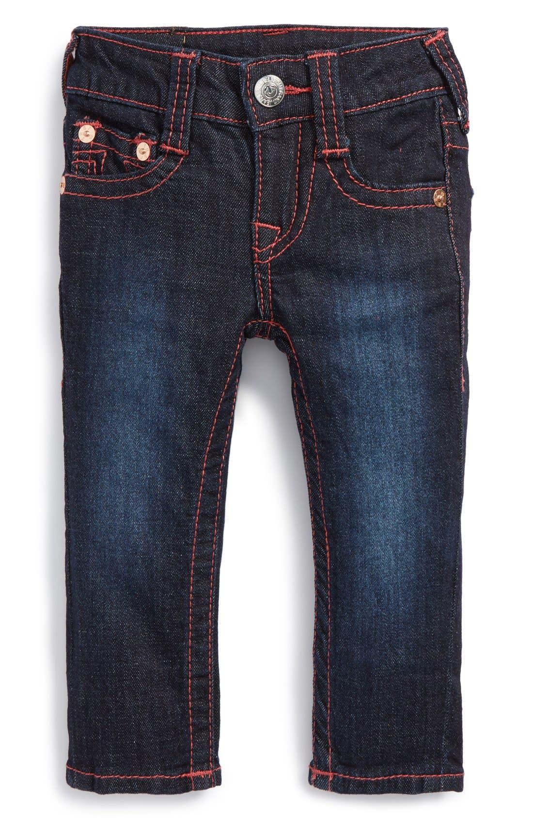 'Stella' Skinny Jeans,                             Main thumbnail 1, color,                             Rinse