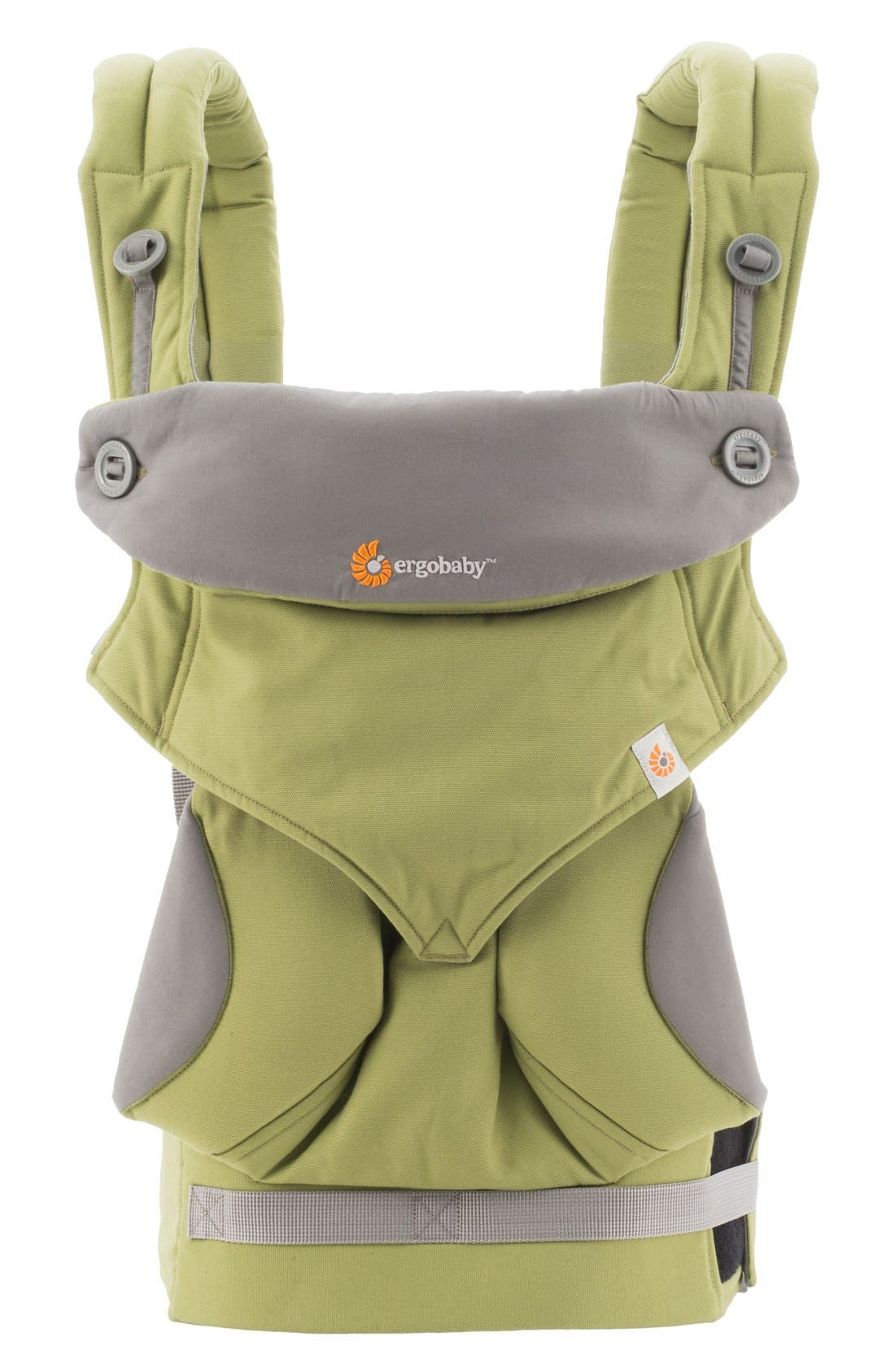 '360' Baby Carrier,                         Main,                         color, Green