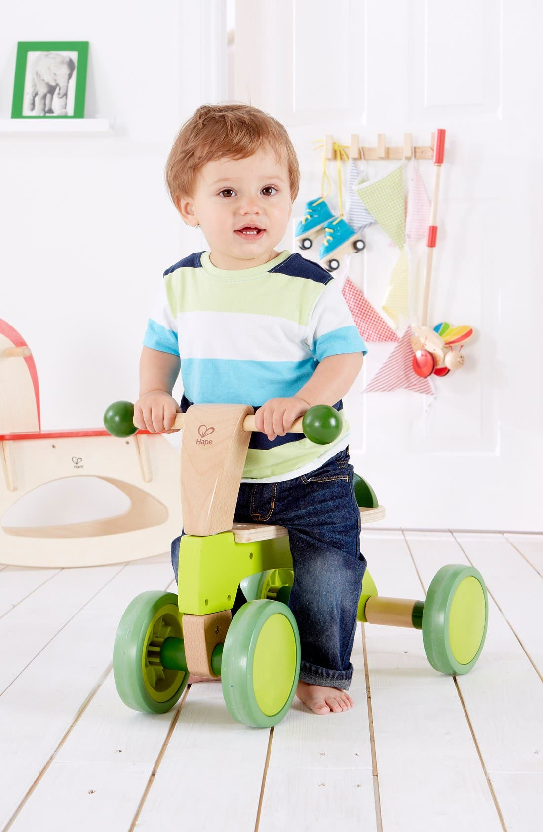 'Scoot-Around' Riding Toy,                             Alternate thumbnail 4, color,                             Green