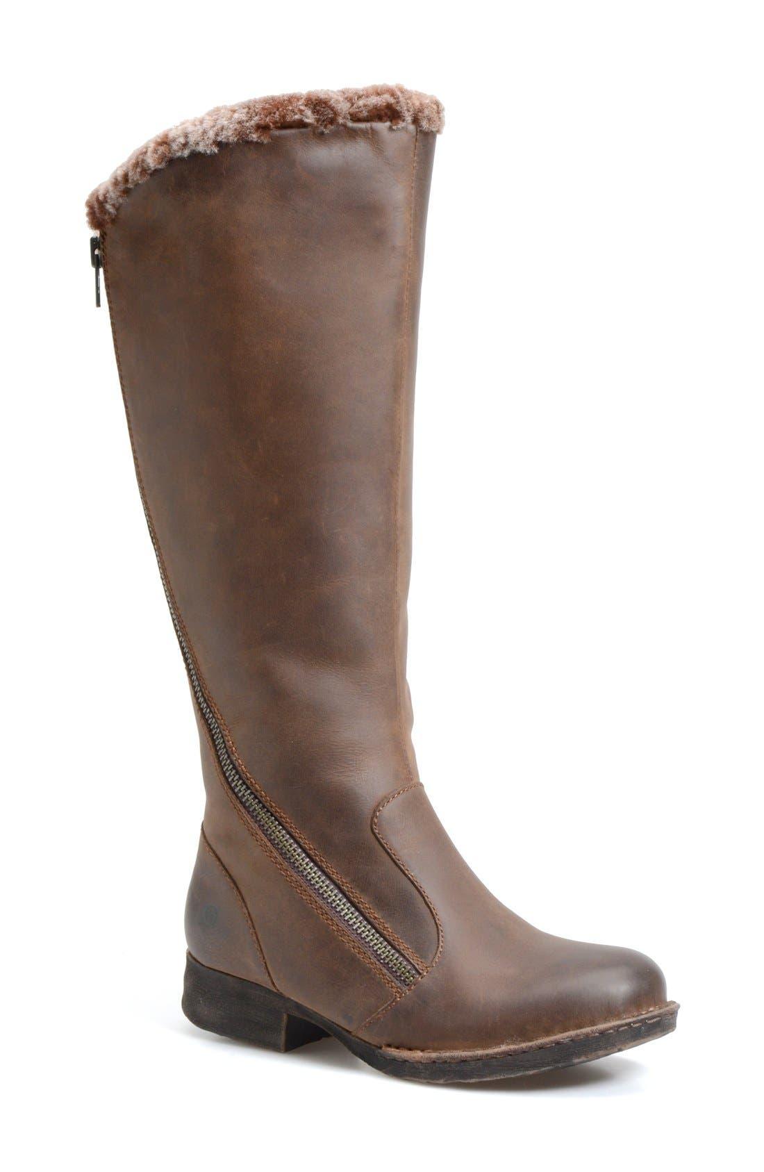 Alternate Image 1 Selected - Børn 'Muna' Shearling Tall Boot