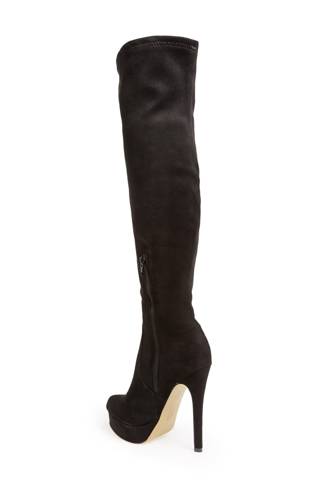 Alternate Image 2  - Chinese Laundry 'Luster' Over the Knee Platform Boot (Women)
