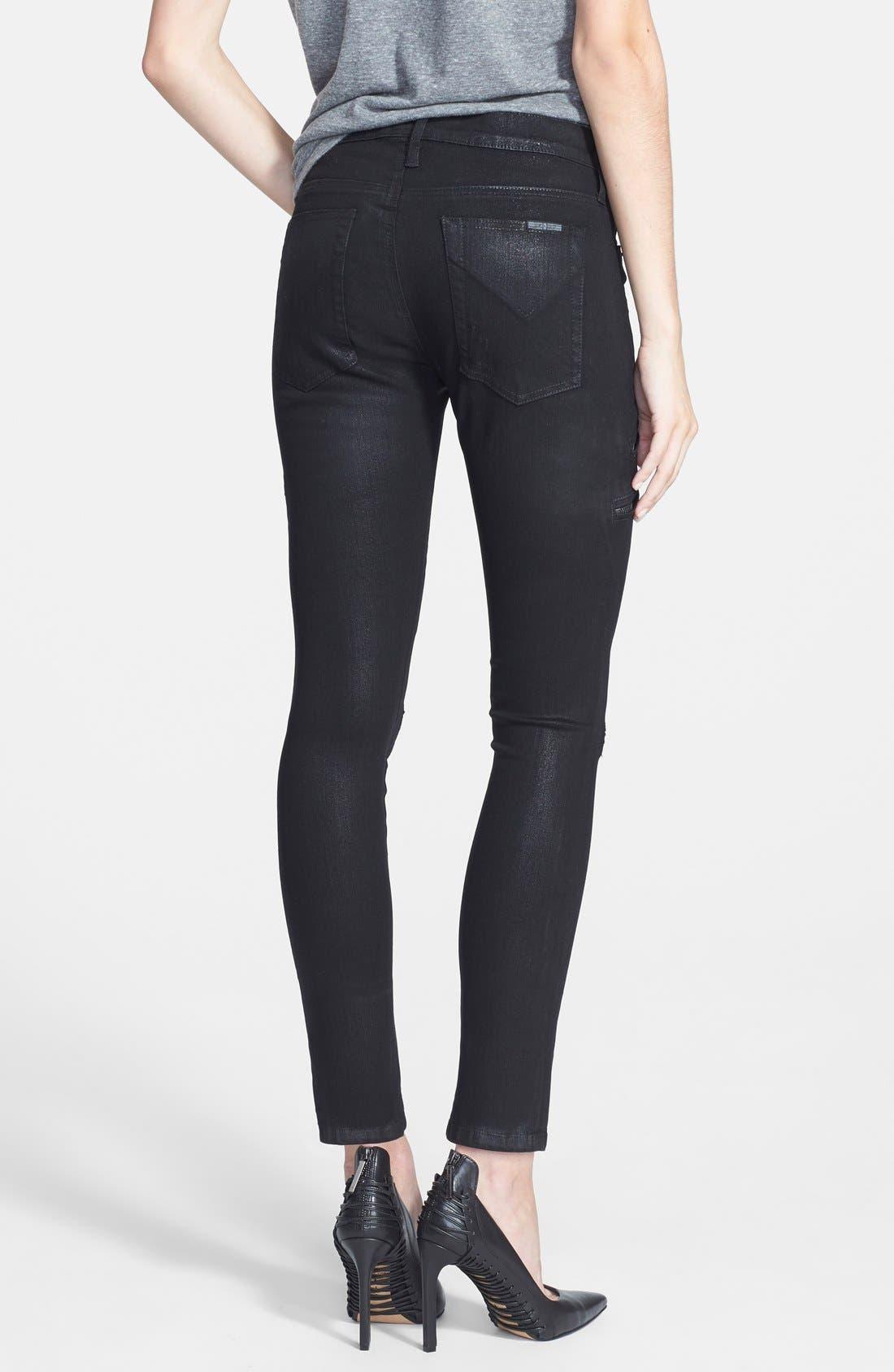 Alternate Image 2  - Hudson Jeans 'Catalyst' Slouch Jeans (Waxed Skylark)
