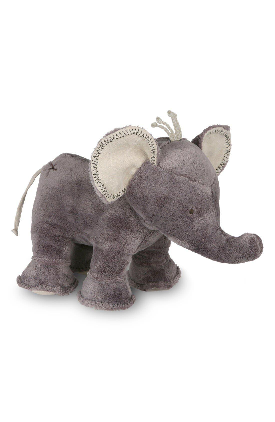 'Buddy the Elephant' Stuffed Animal,                             Alternate thumbnail 2, color,                             Warm Gray