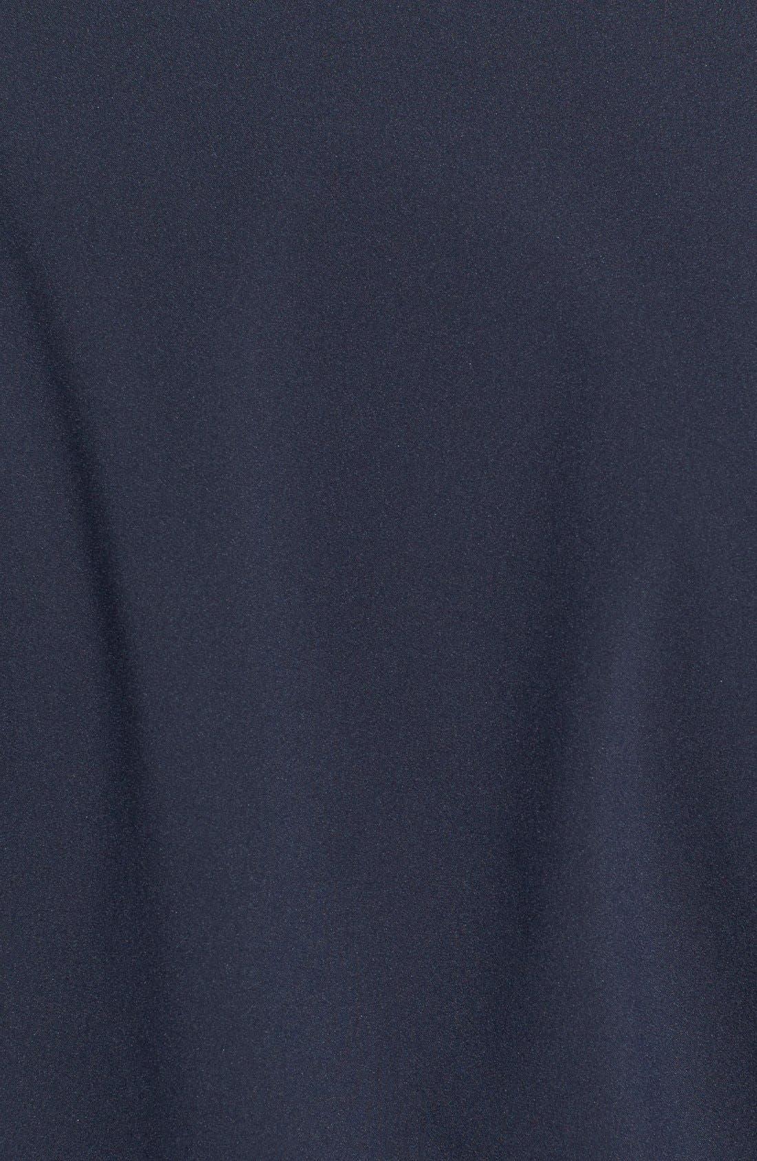 'Summit' WeatherTec Wind & Water Resistant Half Zip Jacket,                             Alternate thumbnail 3, color,                             Navy Blue