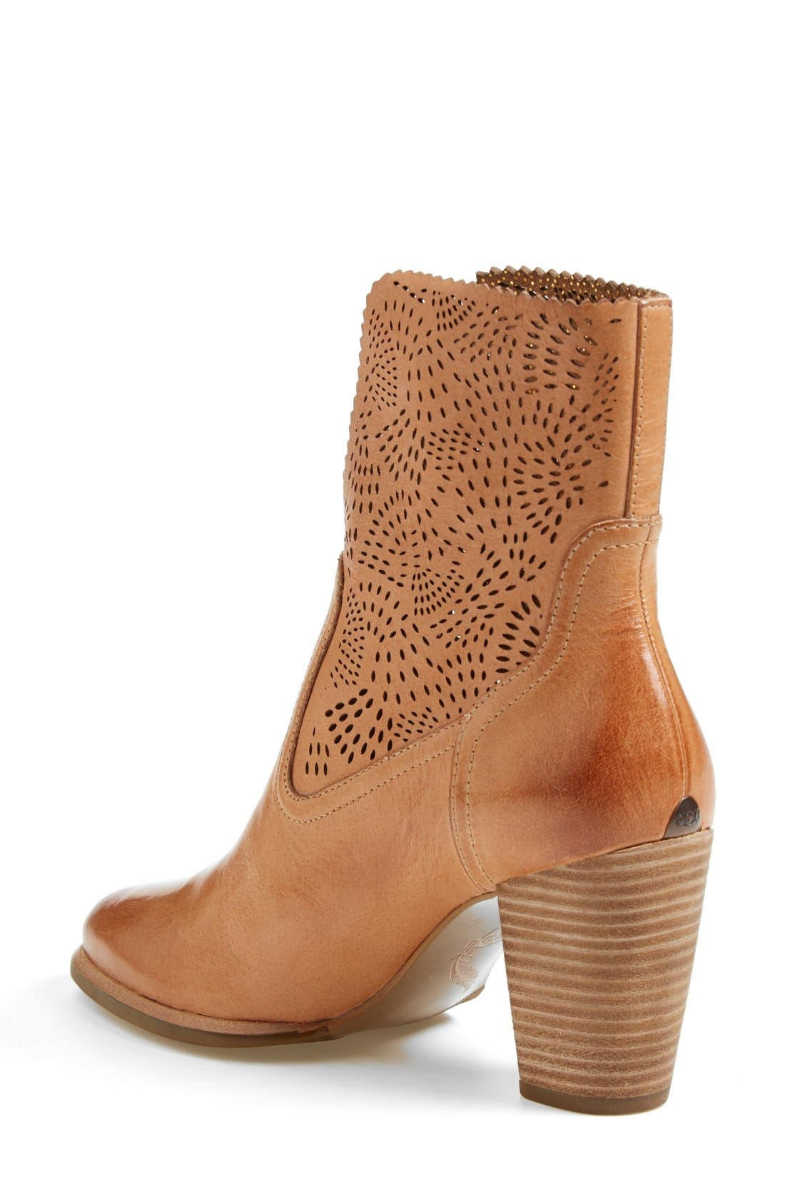 Alternate Image 2  - UGG® Australia 'Thames Seaweed' Perforated Bootie (Women)