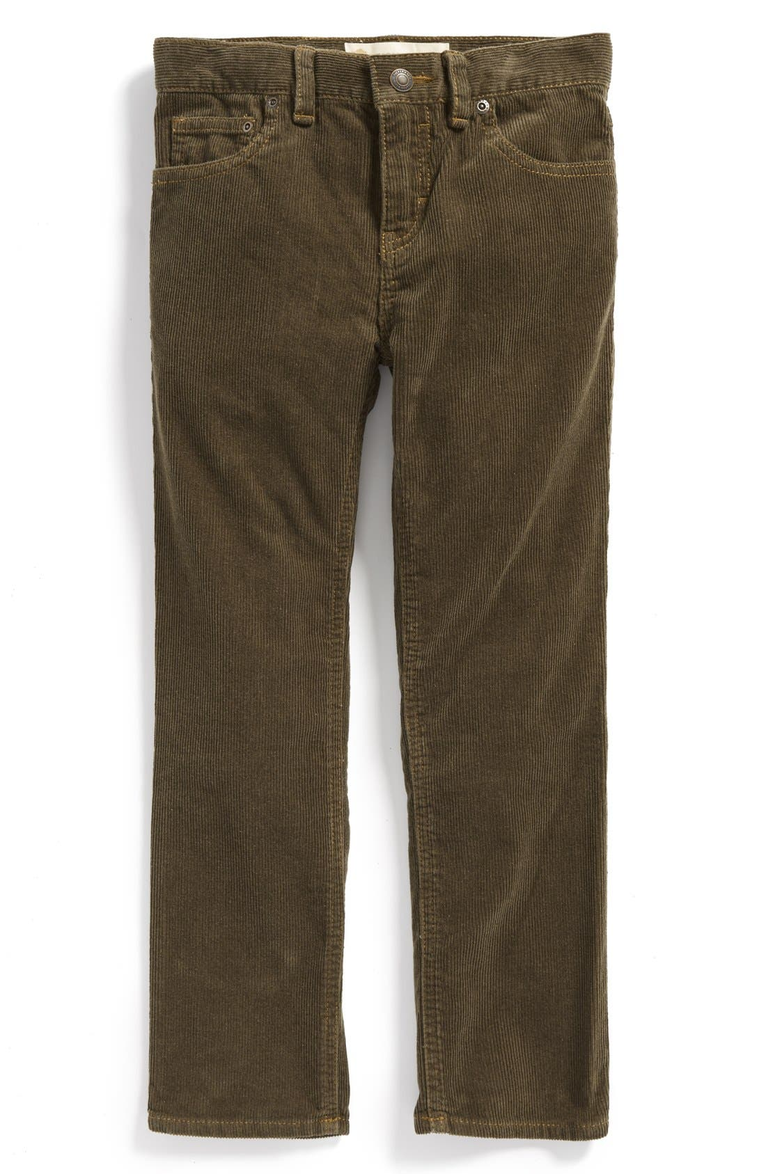 'Townsend' Corduroy Pants,                         Main,                         color, Olive Tarmac