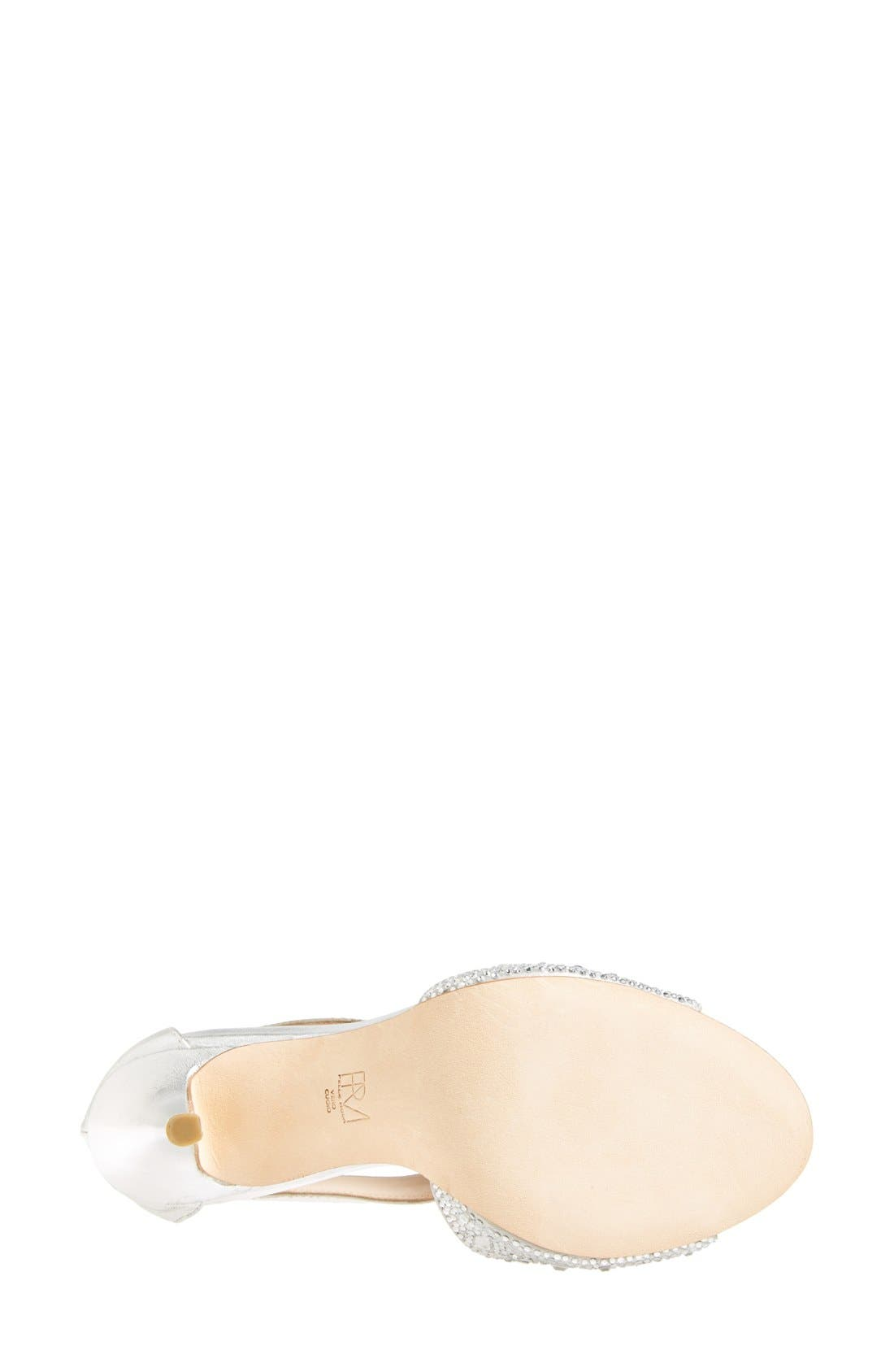 Alternate Image 4  - Pelle Moda 'Jett' Embellished T Strap Sandal (Women)