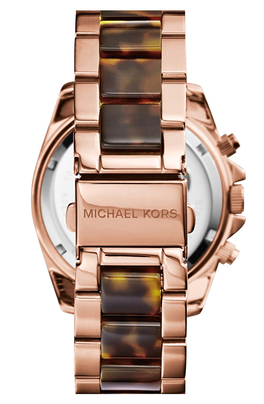Alternate Image 2  - Michael Kors 'Blair' Two-Tone Bracelet Watch, 39mm