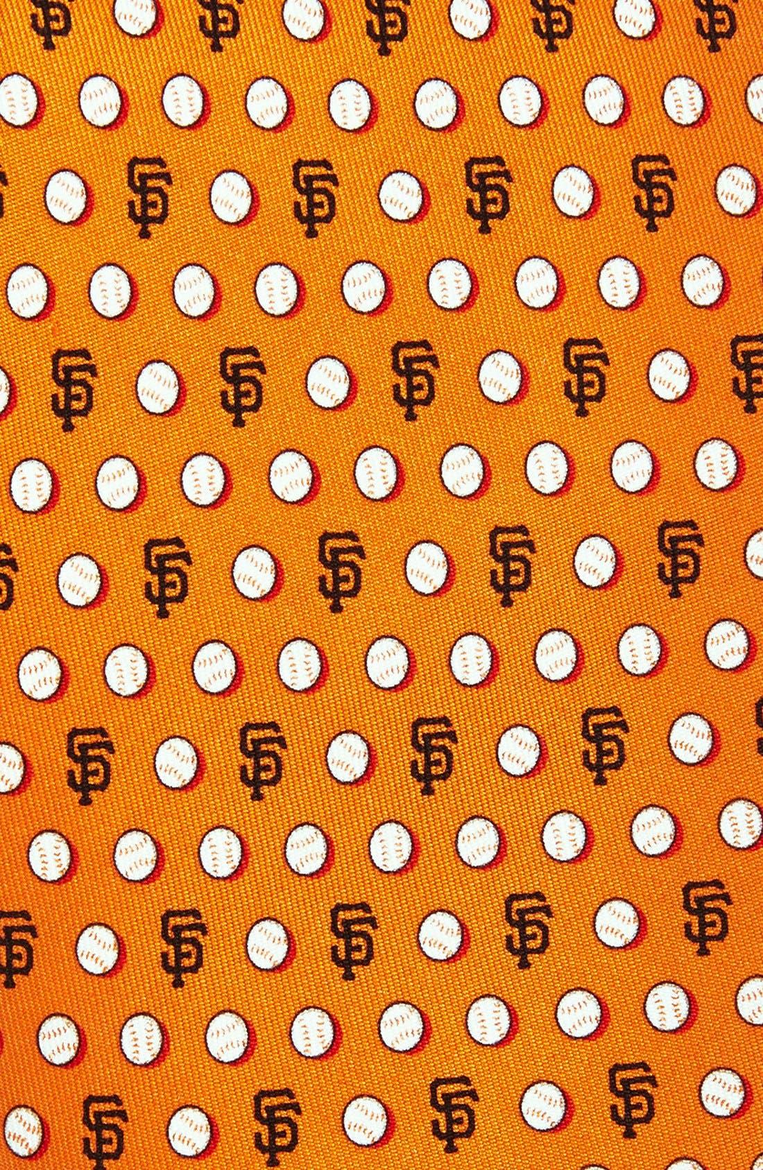 'San Francisco Giants - MLB' Woven Silk Tie,                             Alternate thumbnail 2, color,                             Orange