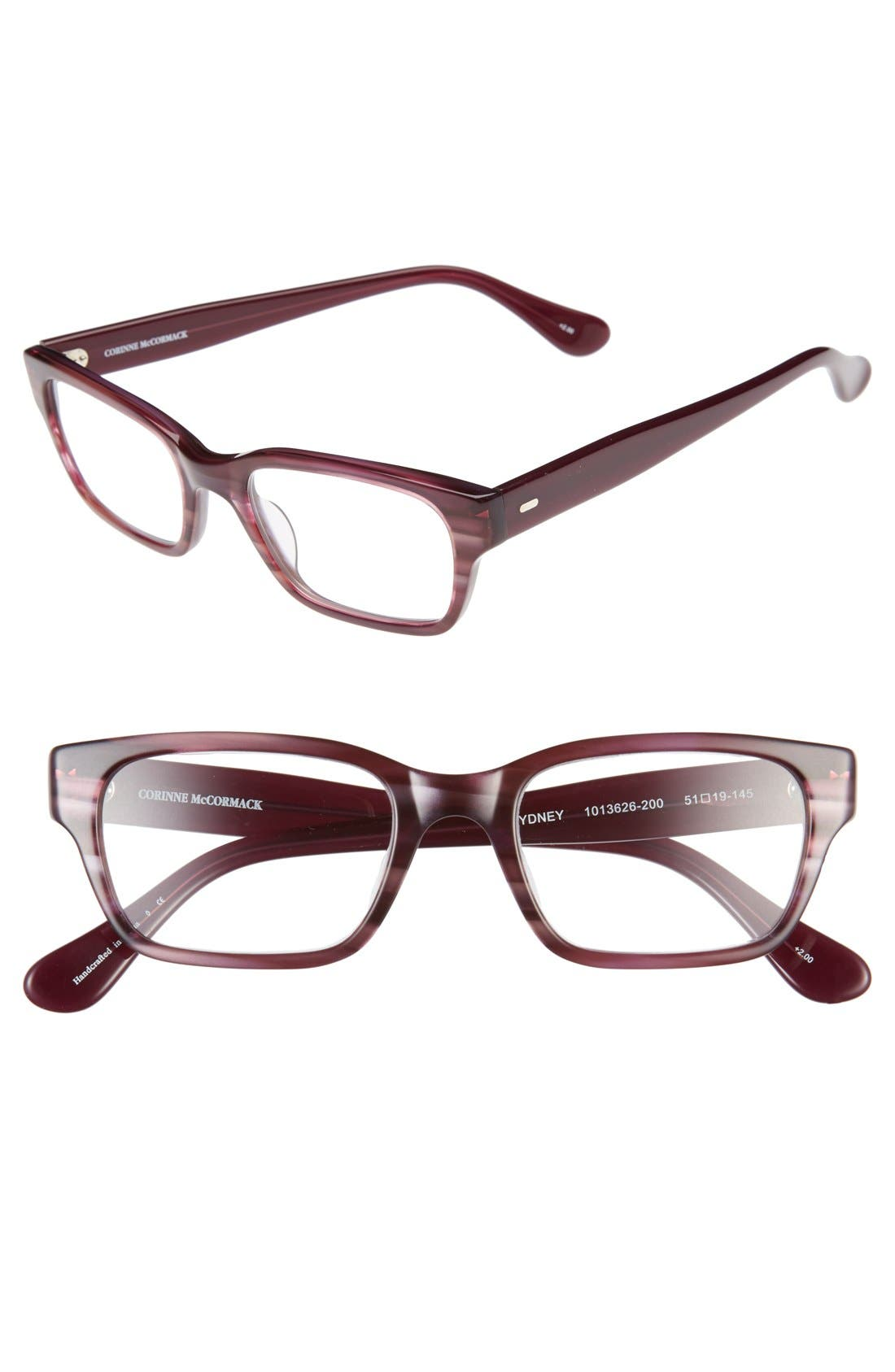 corinne mccormack sydney 51mm reading glasses nordstrom