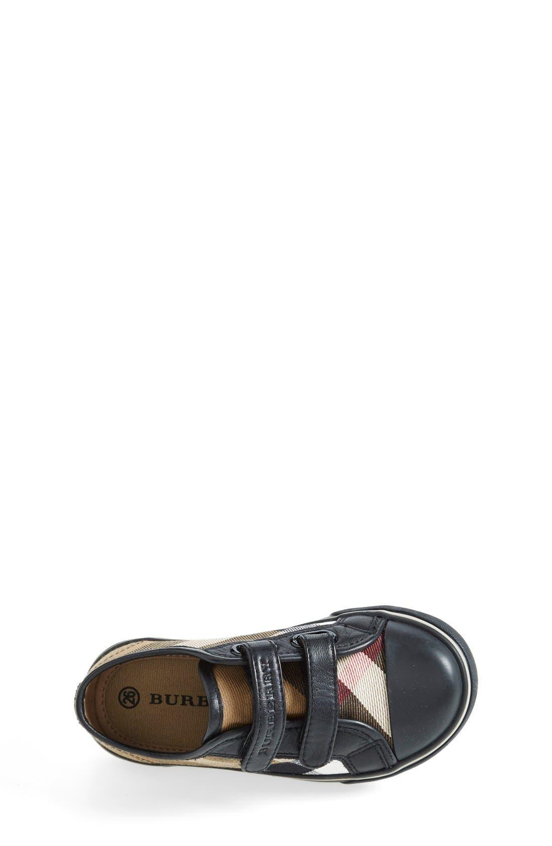 Alternate Image 3  - Burberry 'Pete' Sneaker (Baby, Walker, Toddler &  Little Kid)