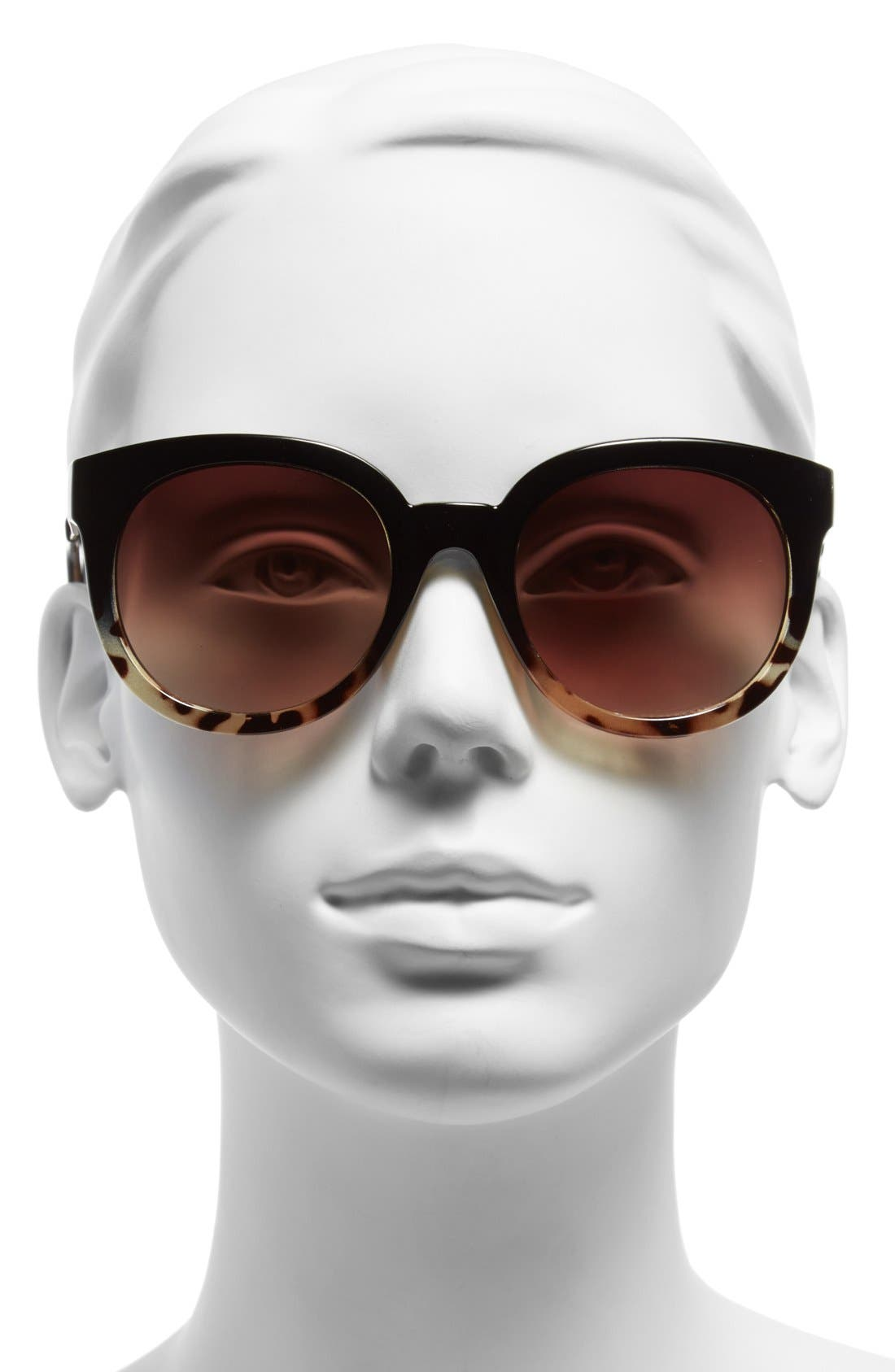 'Ipso Facto' 50mm Sunglasses,                             Alternate thumbnail 2, color,                             Tort