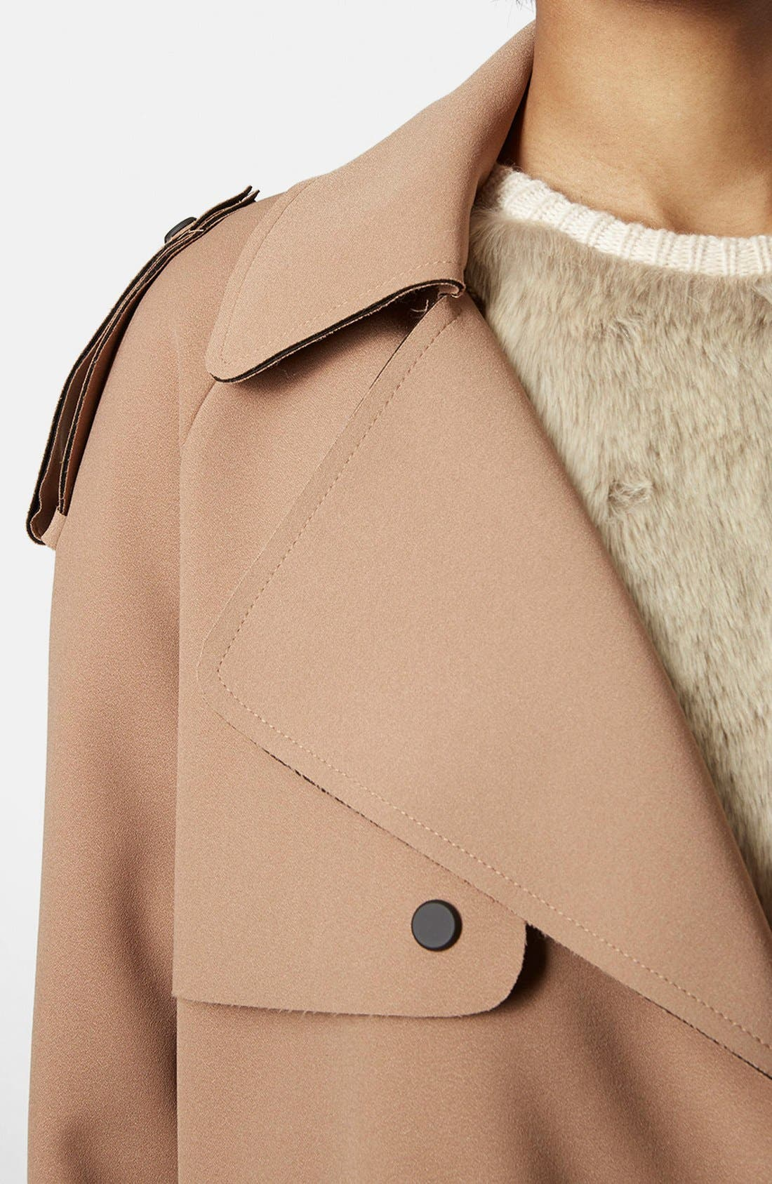 Alternate Image 4  - Topshop 'LBonded' Trench Coat