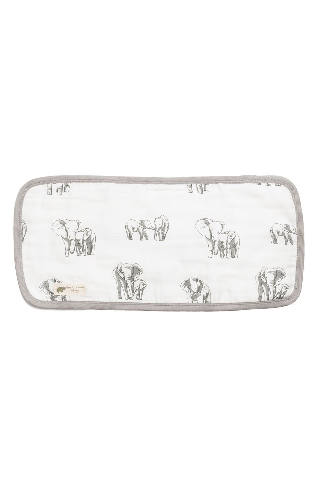 Alternate Image 1 Selected - Monica + Andy Organic Cotton Burp Cloth