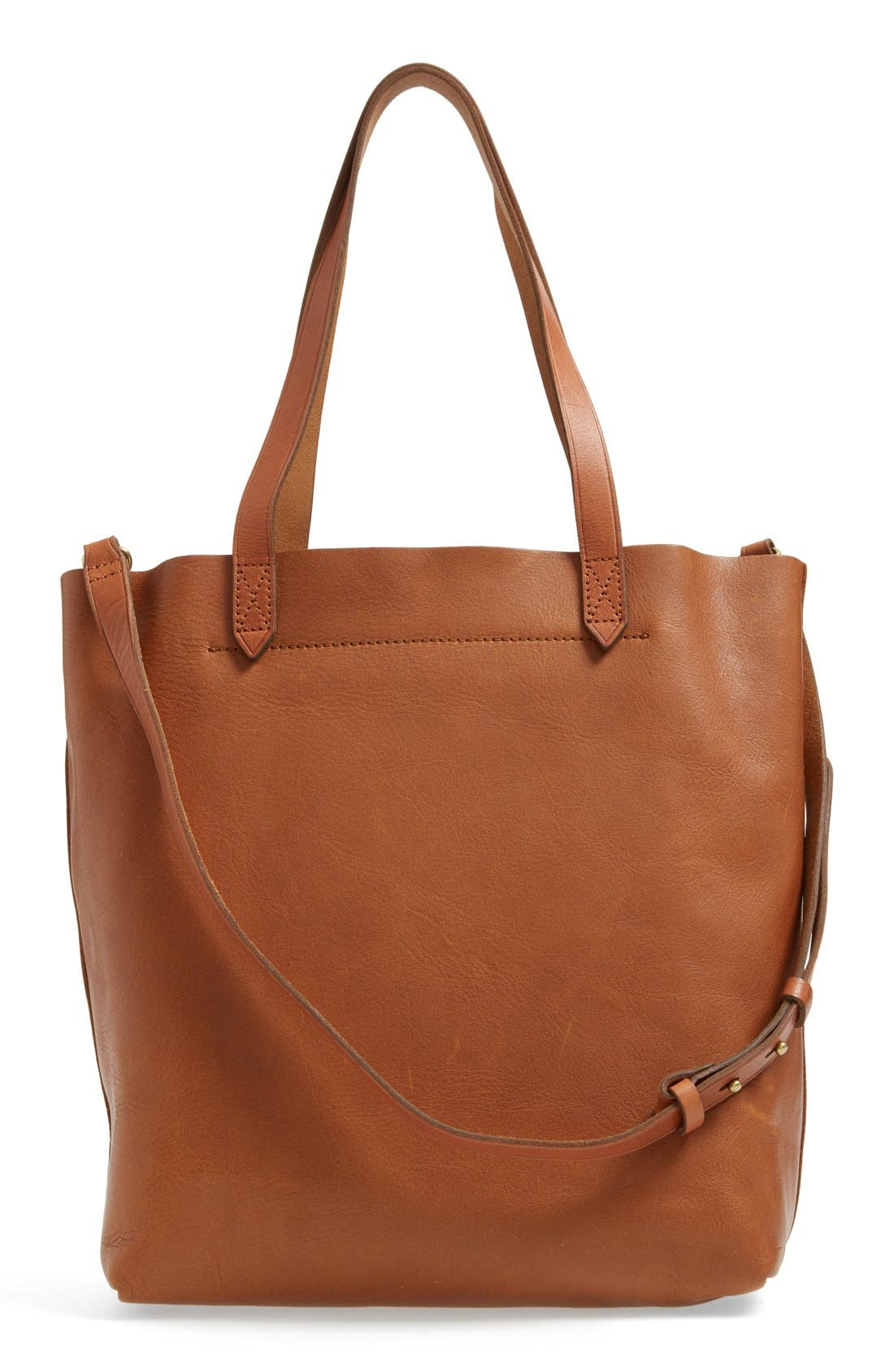 Alternate Image 3  - Madewell Medium Leather Transport Tote