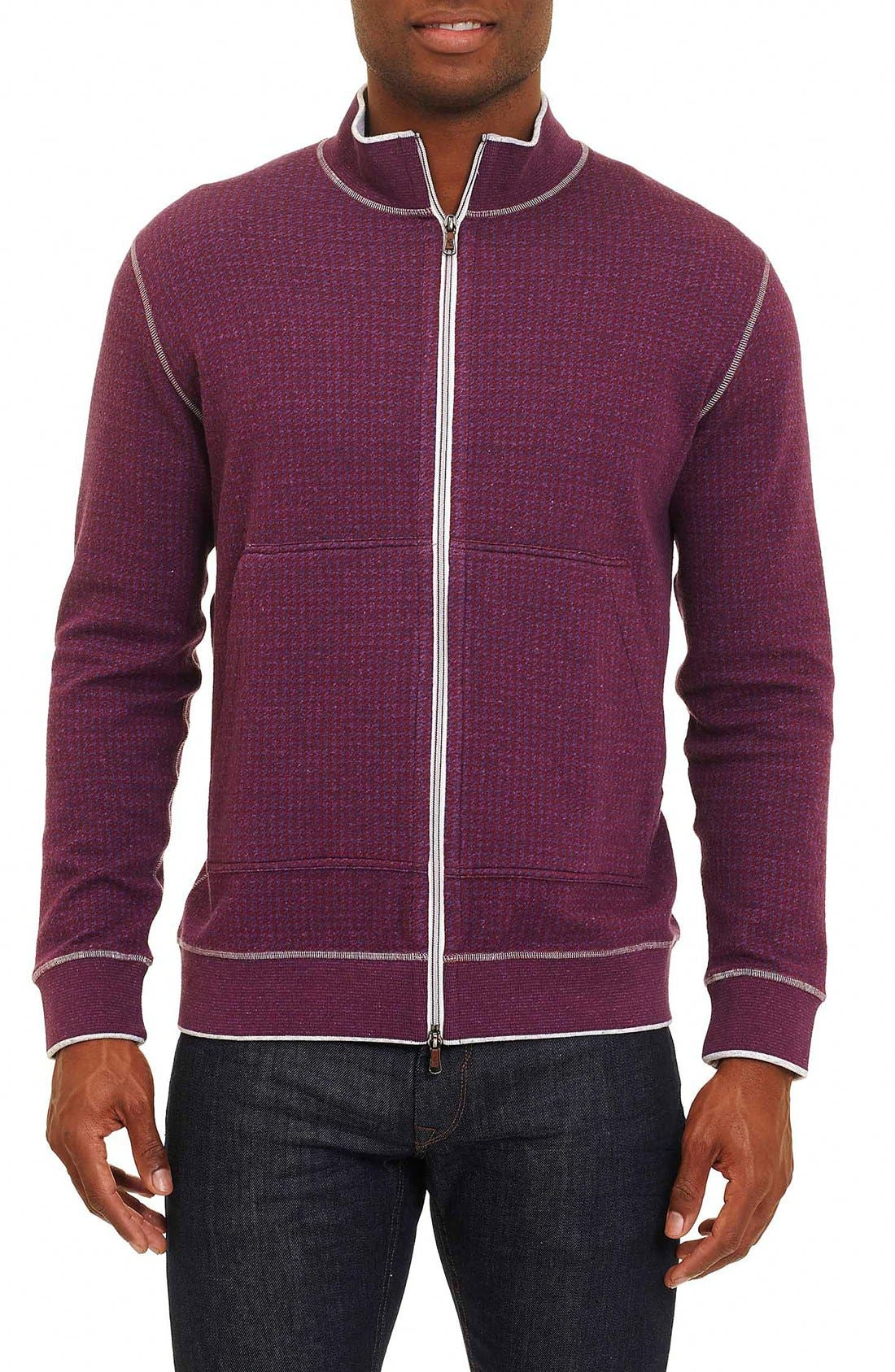 Robert Graham Odyssey Reversible Zip Cardigan