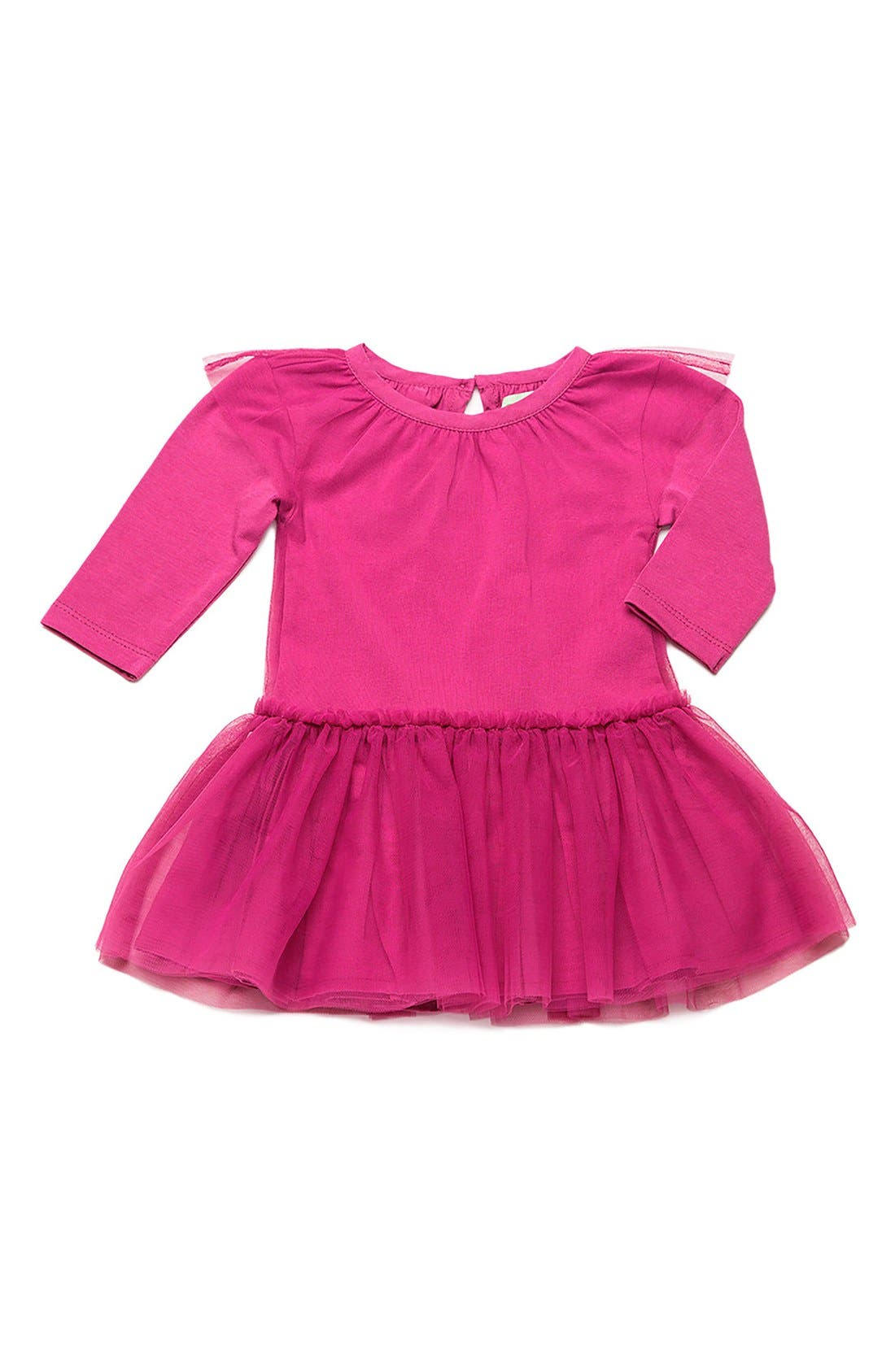 Little Belle Tulle Skirt Dress,                         Main,                         color, Fuchsia