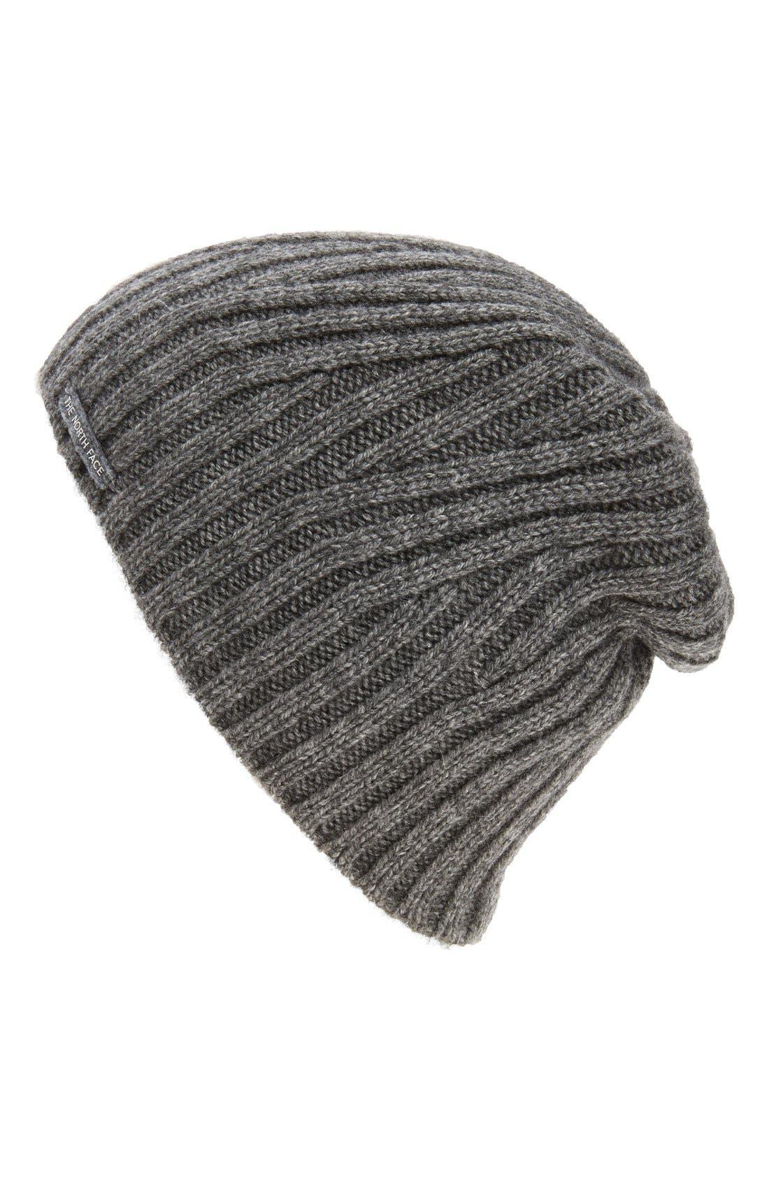 Classic Wool Blend Beanie,                         Main,                         color, Medium Grey Heather