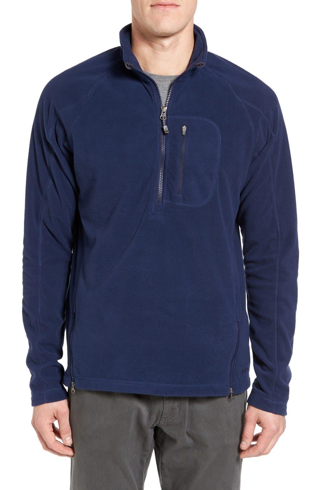 Gramicci Utility Quarter Zip Fleece Sweater