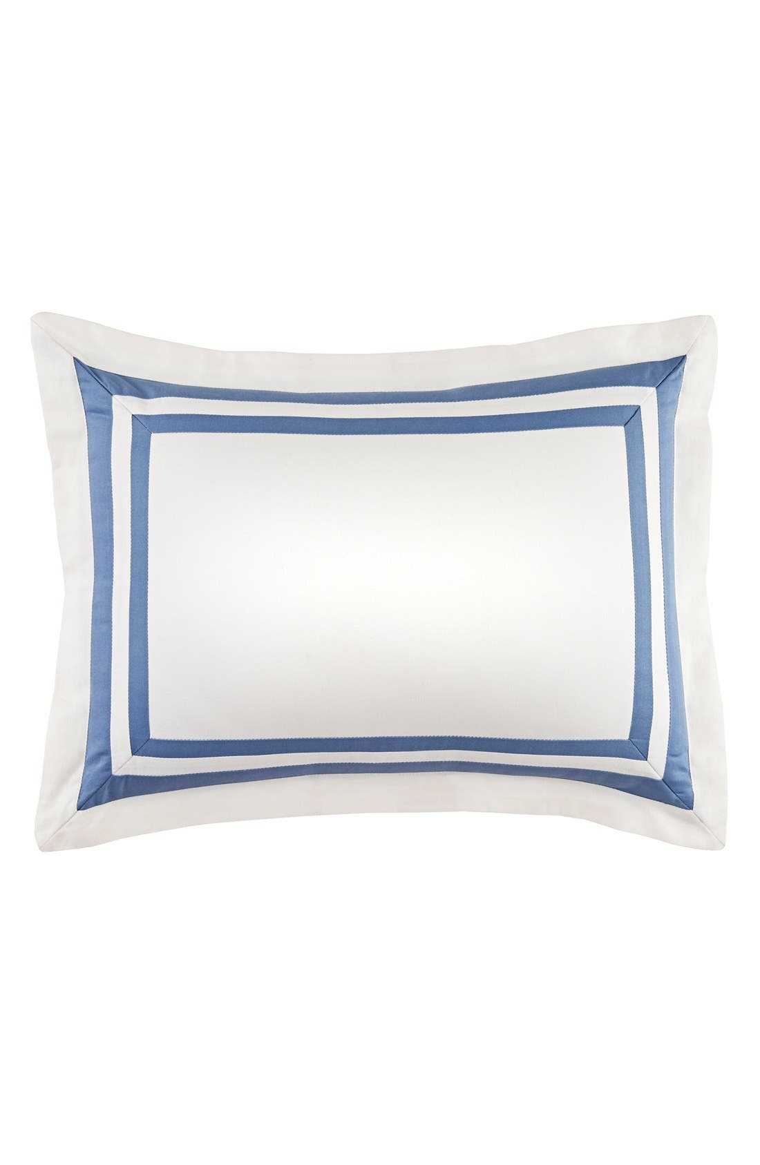Pieced Accent Pillow,                         Main,                         color, Blue