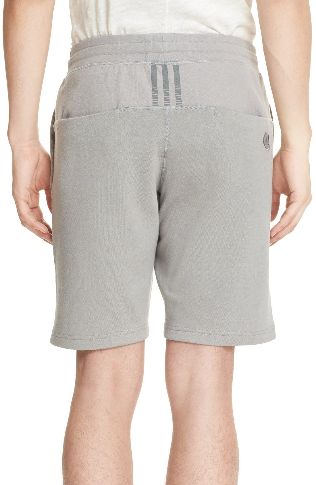 Alternate Image 2  - wings + horns x adidas Bonded Jersey Shorts