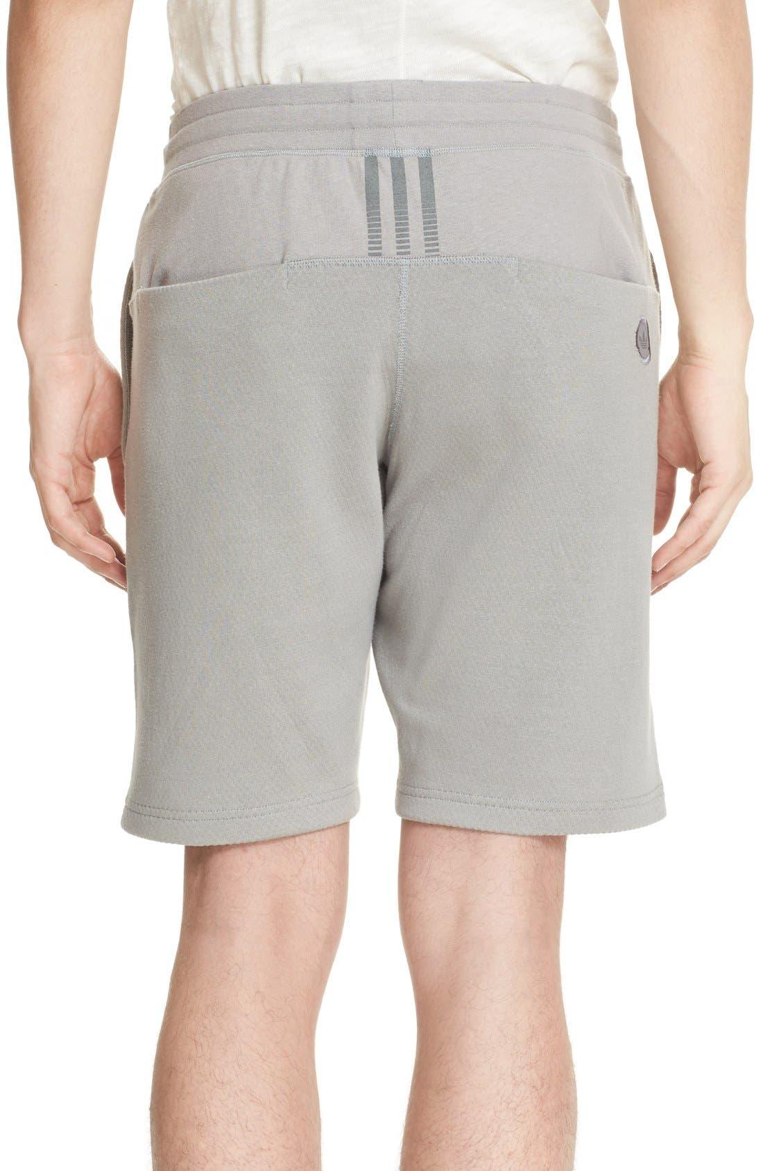 Bonded Jersey Shorts,                             Alternate thumbnail 2, color,                             Grey