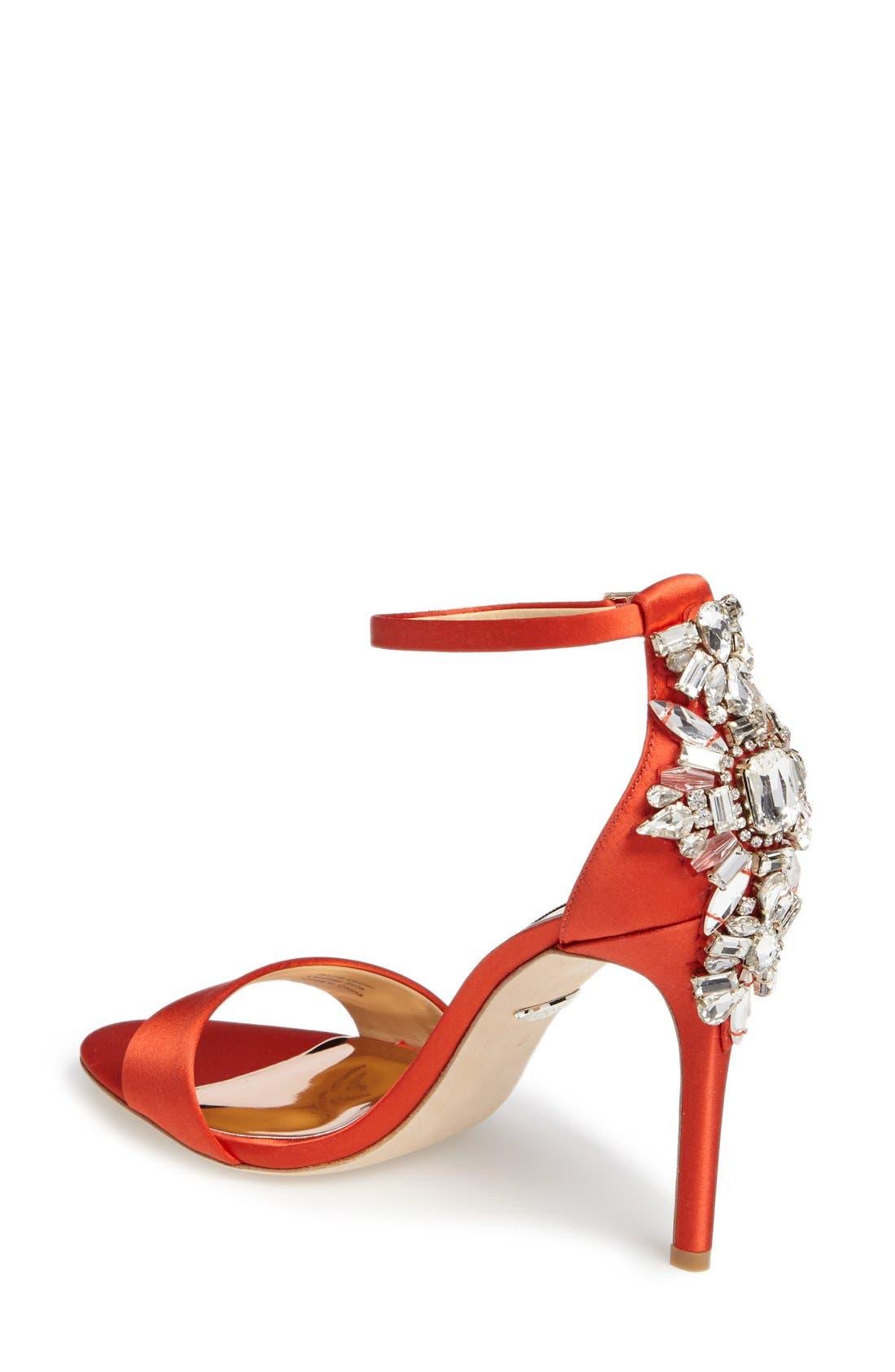 Alternate Image 2  - Badgley Mischka Bartley Ankle Strap Sandal (Women)