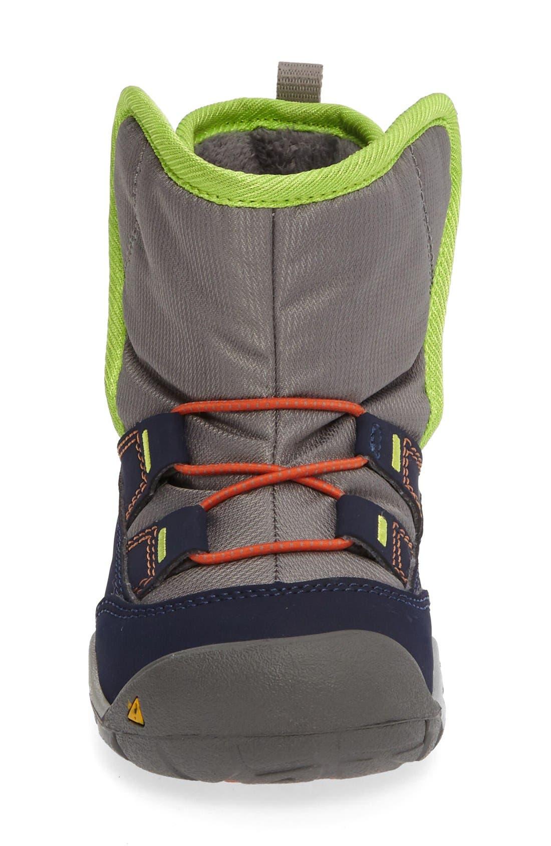 Alternate Image 3  - Keen Peek-A-Boot Fleece Lined Boot (Baby & Walker)