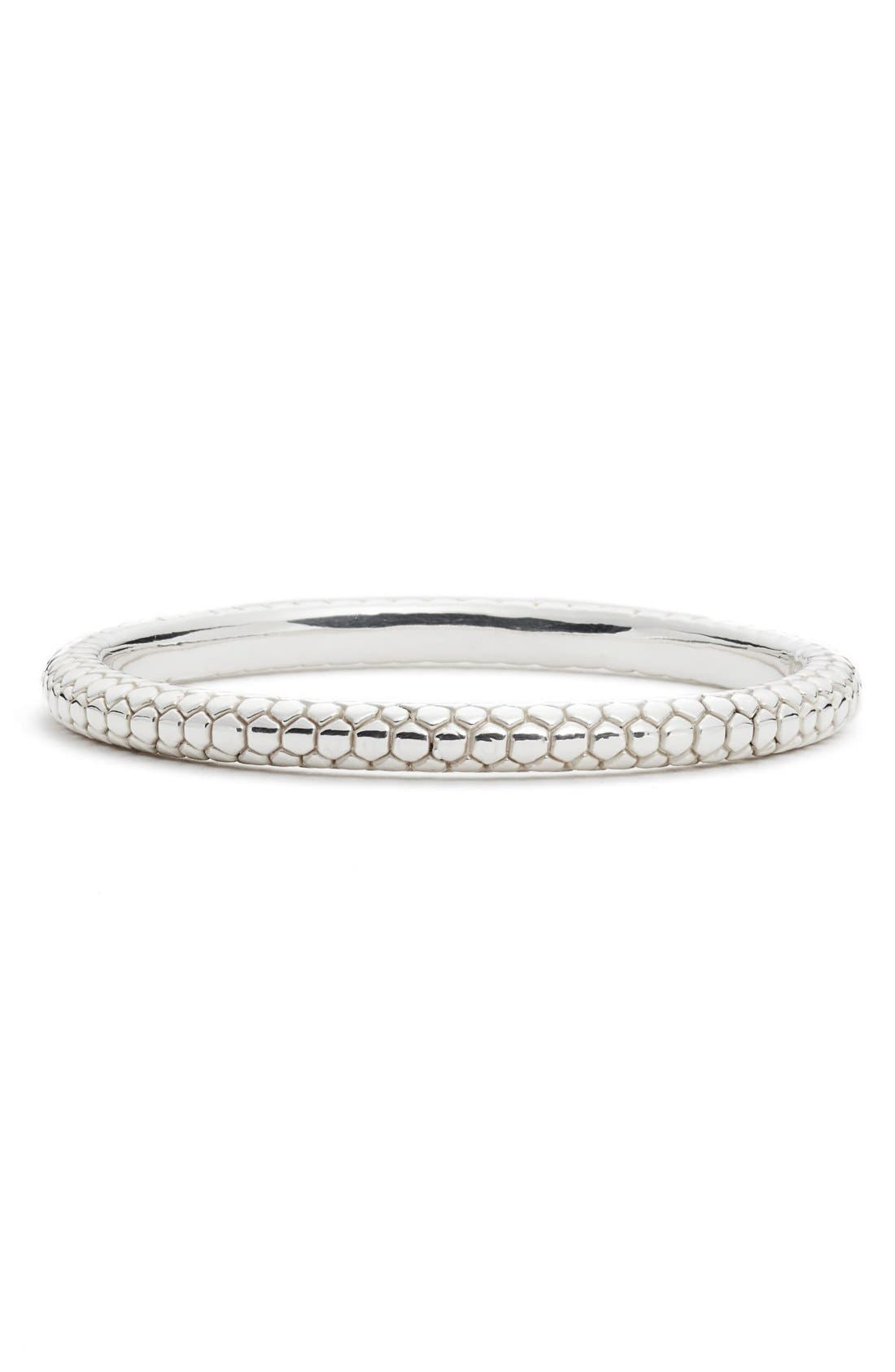 SIMON SEBBAG Pebble Textured Bangle