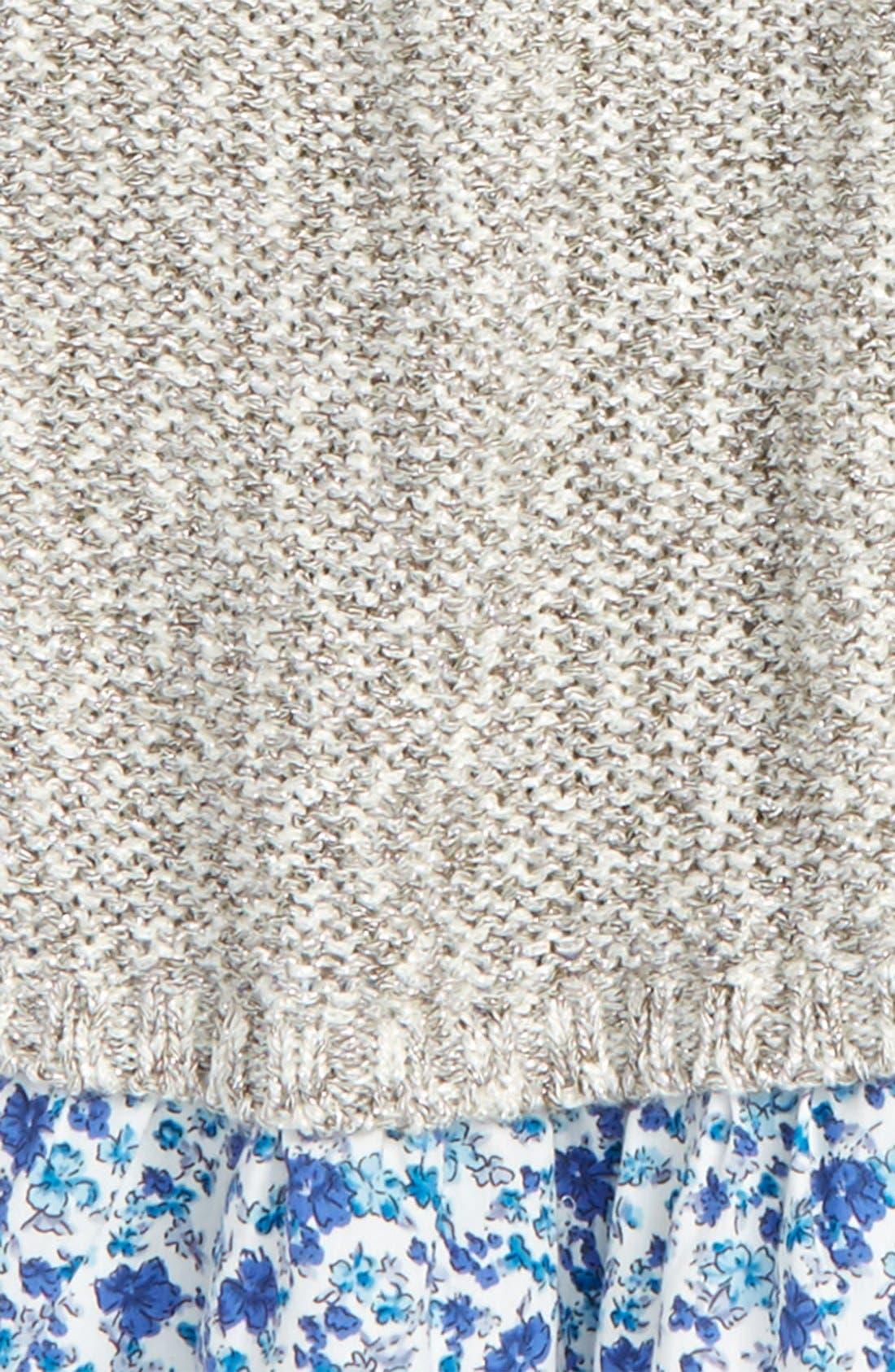 Alternate Image 2  - Tucker + Tate Sparkle Ruffle Sweater (Toddler Girls, Little Girls & Big Girls)