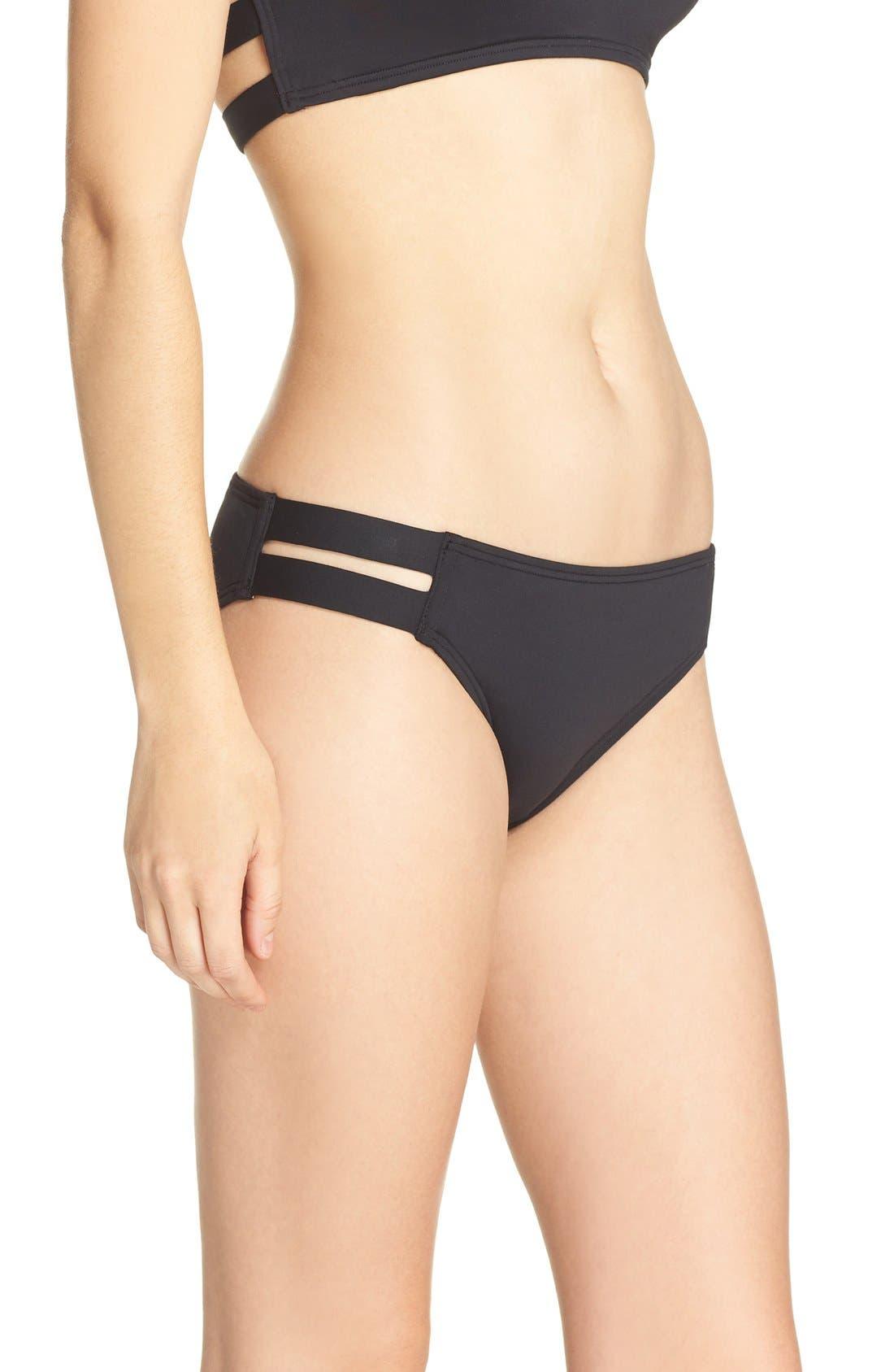 Alternate Image 3  - Vince Camuto Strap Side Bikini Bottoms
