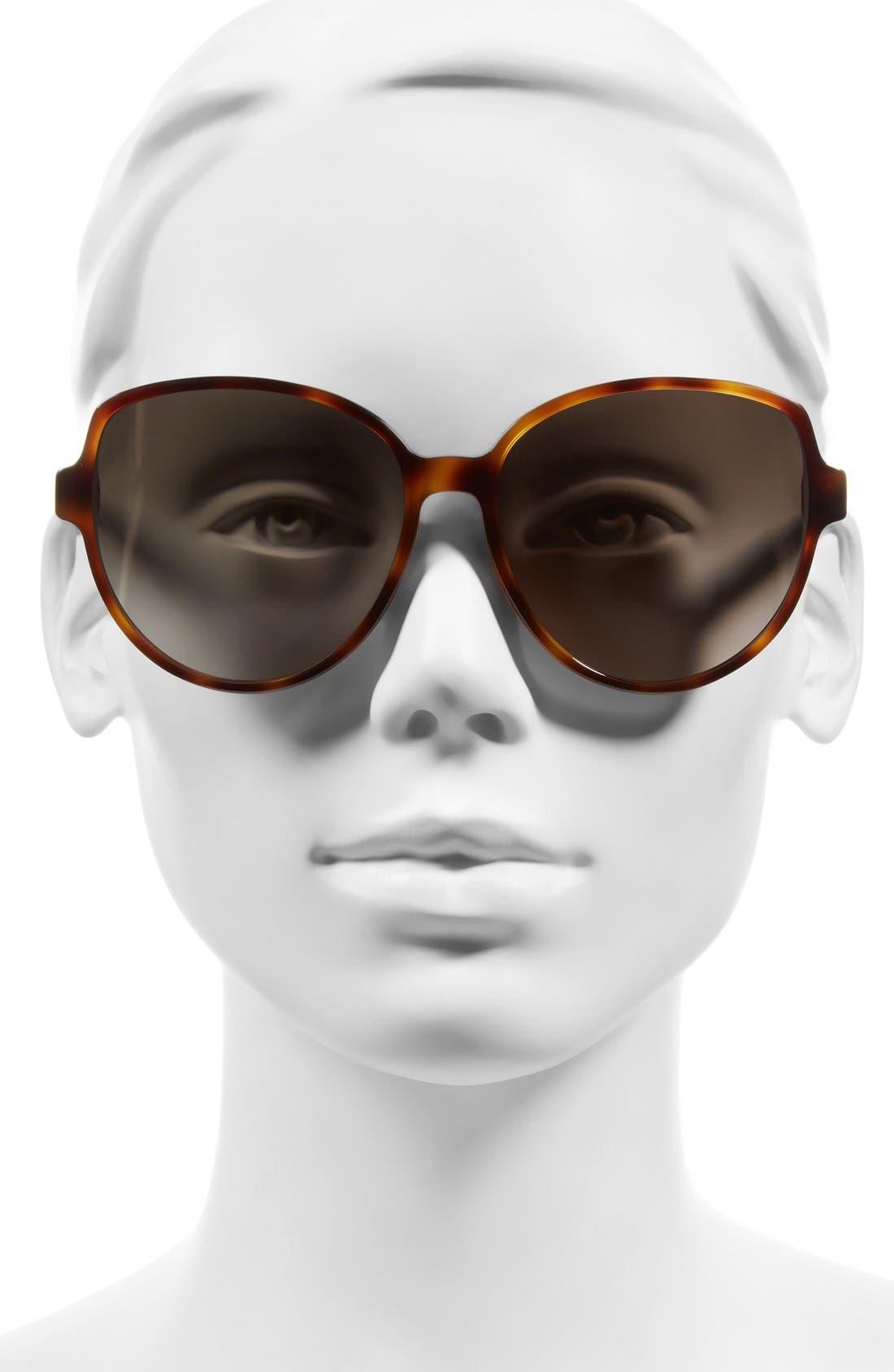 Alternate Image 2  - Dior Onde 2 58mm Sunglasses