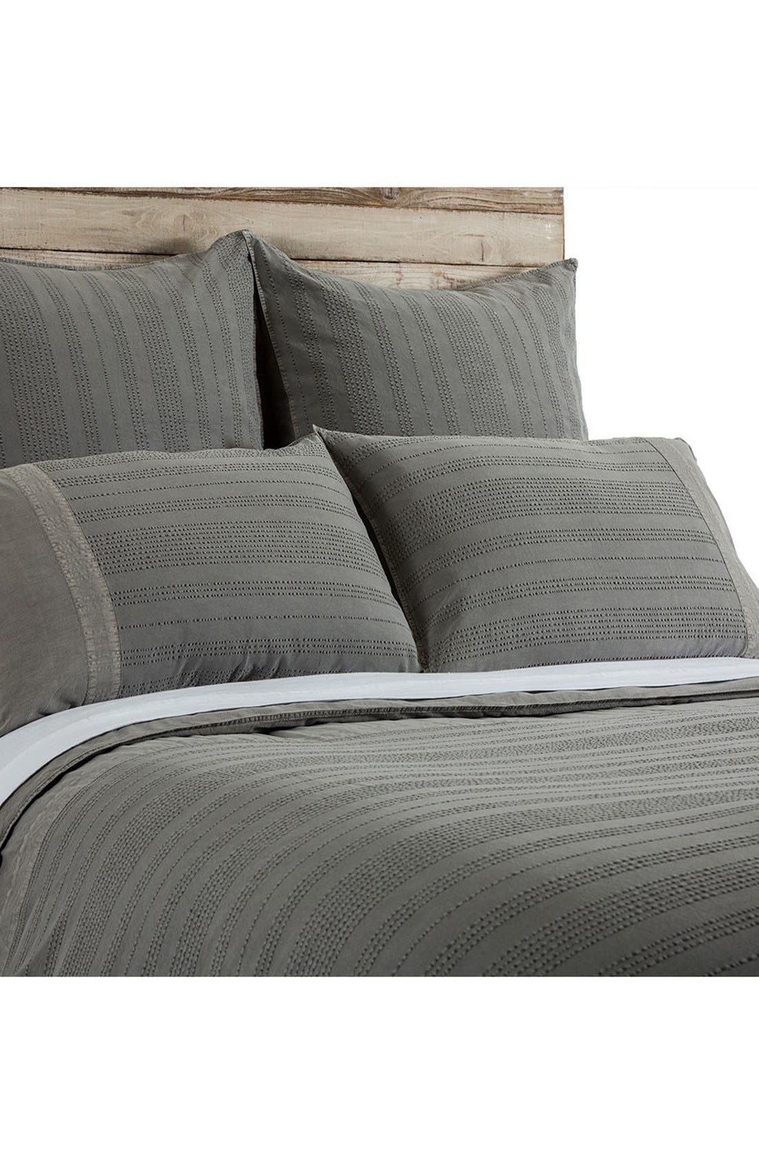 Quinn Duvet,                         Main,                         color, Grey
