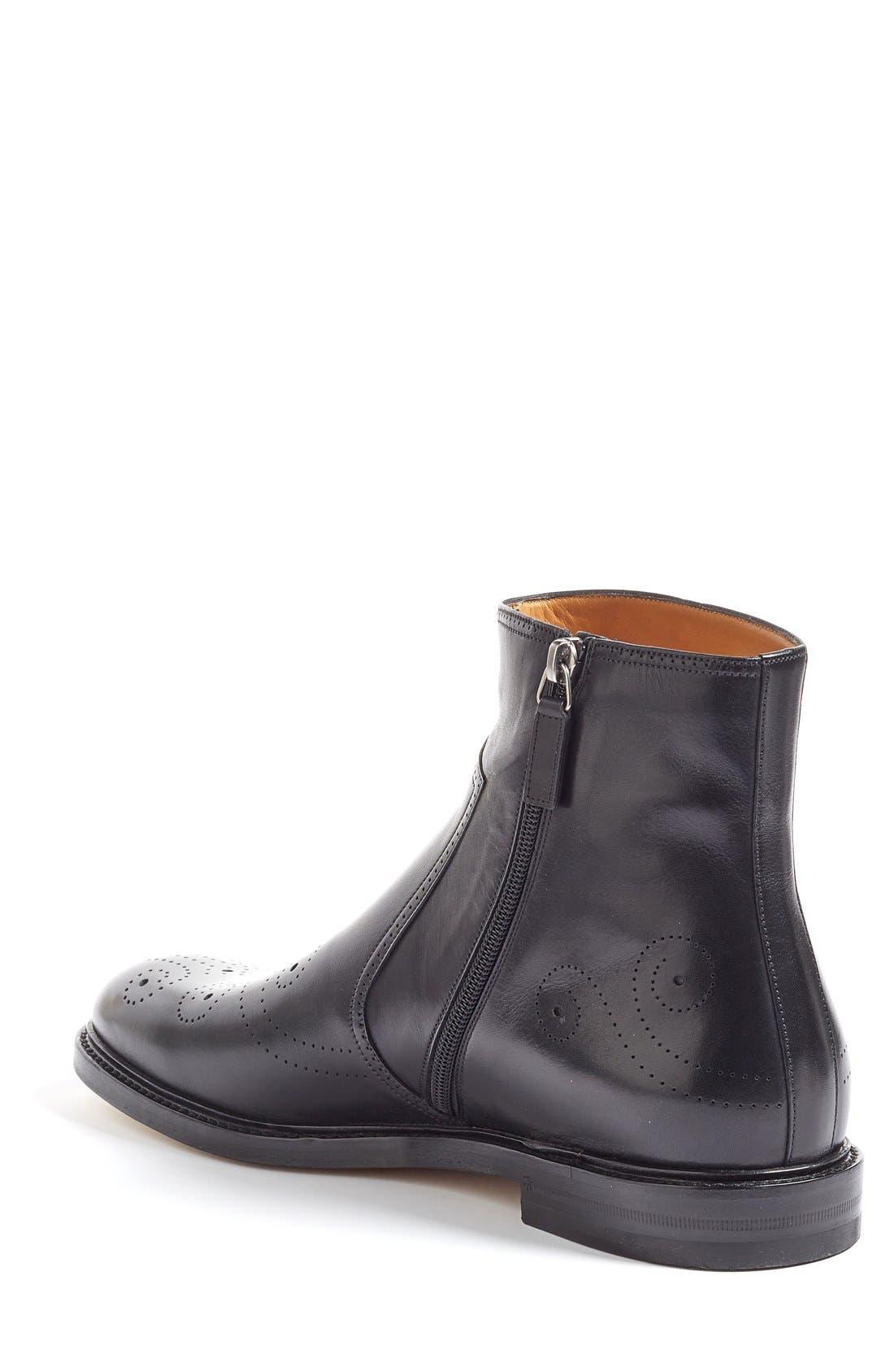 Alternate Image 2  - Gucci Zip Boot (Men)