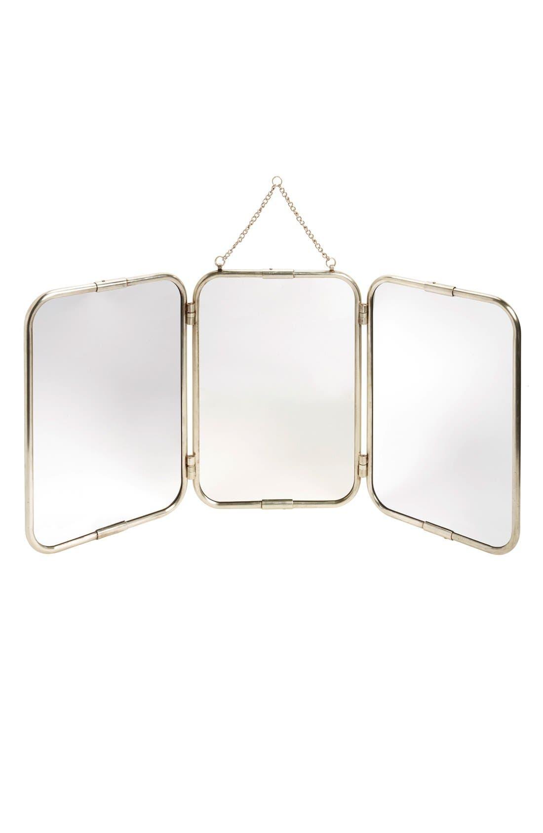 Main Image - Creative Co-Op 3-Panel Mirror