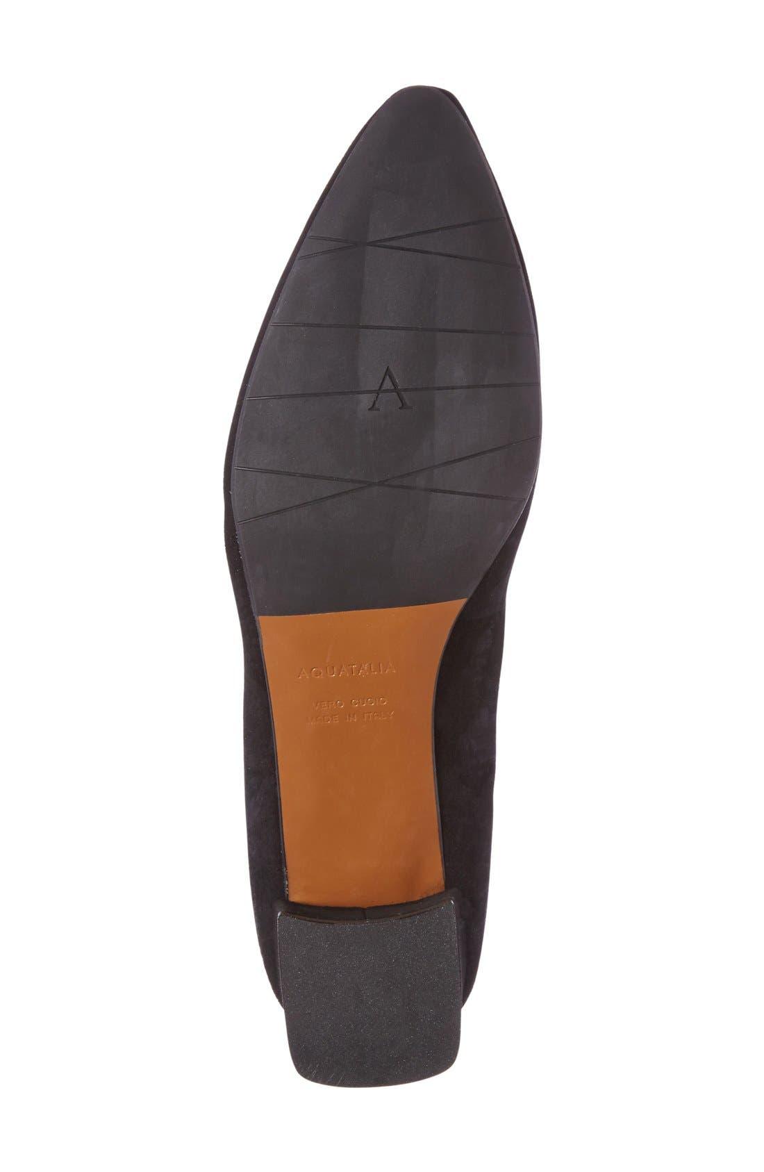 Alternate Image 4  - Aquatalia 'Pheobe' Weatherproof Almond Toe Pump (Women)