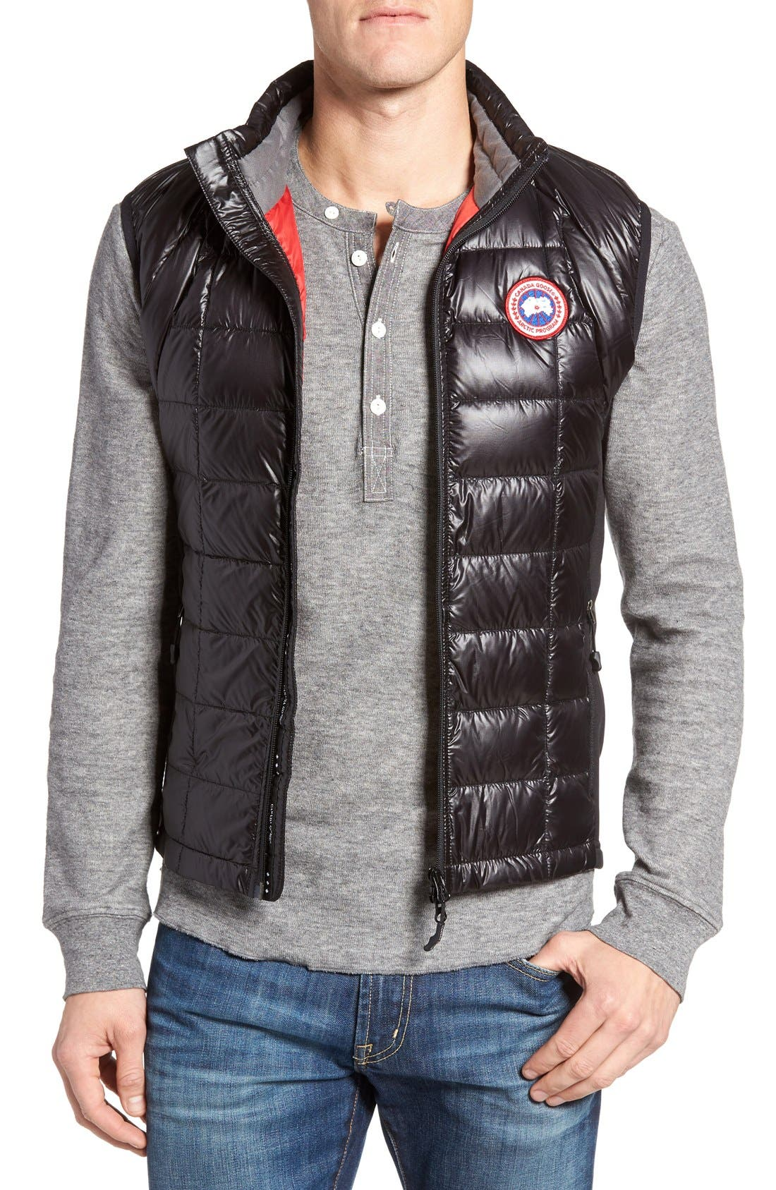 Main Image - Canada Goose 'Hybridge™ Lite' Slim Fit Packable Quilted 800-Fill Down Vest