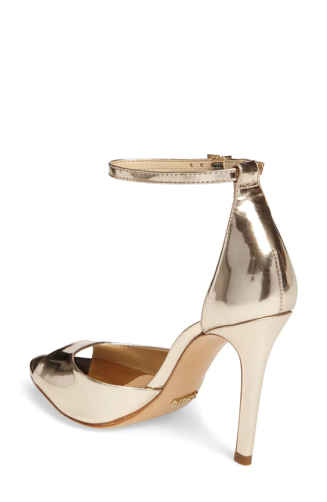 Alternate Image 2  - Schutz Saasha Lee Ankle Strap Sandal (Women)