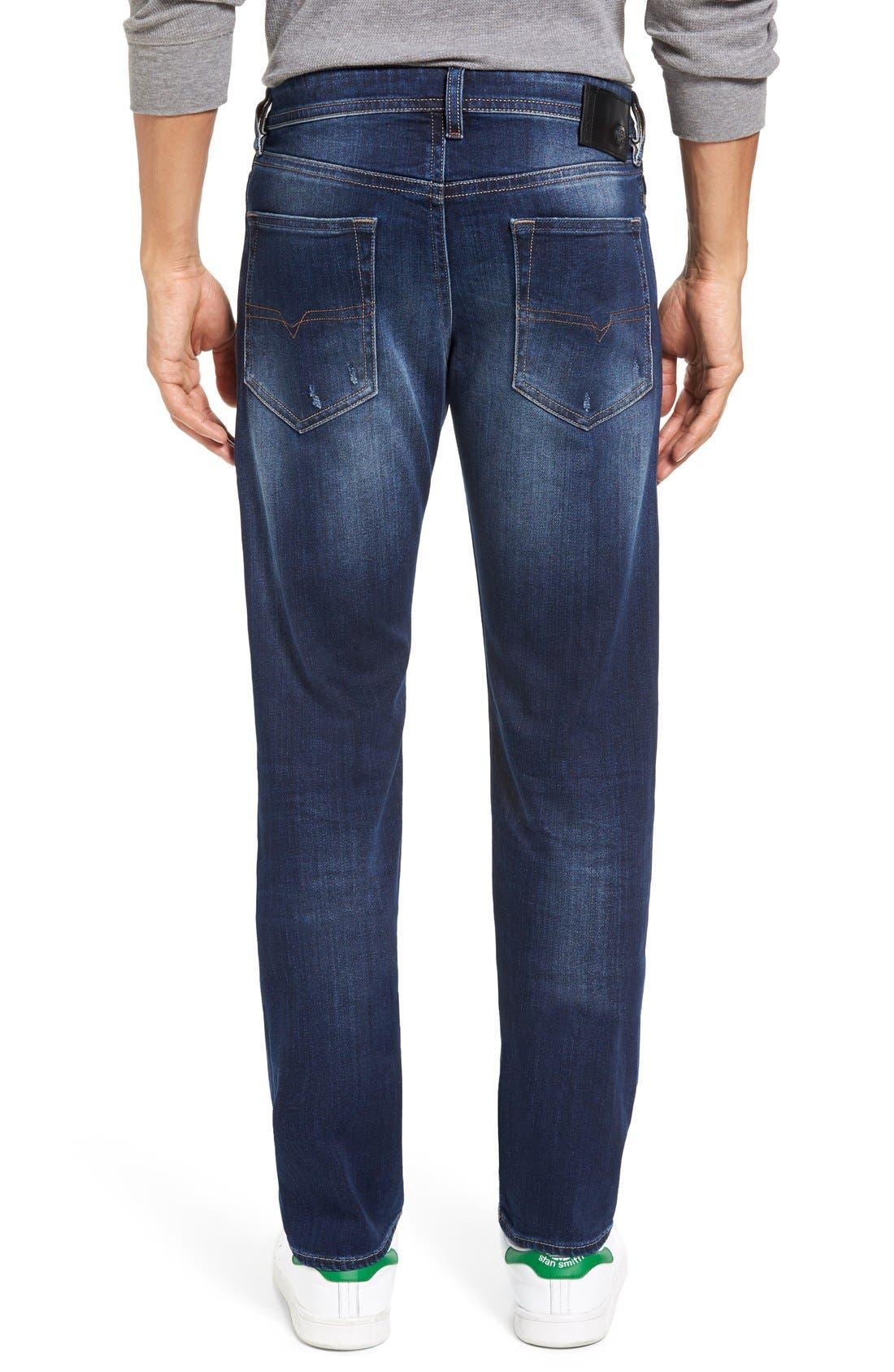 Alternate Image 2  - DIESEL® Buster Slim Straight Leg Jeans (860L)