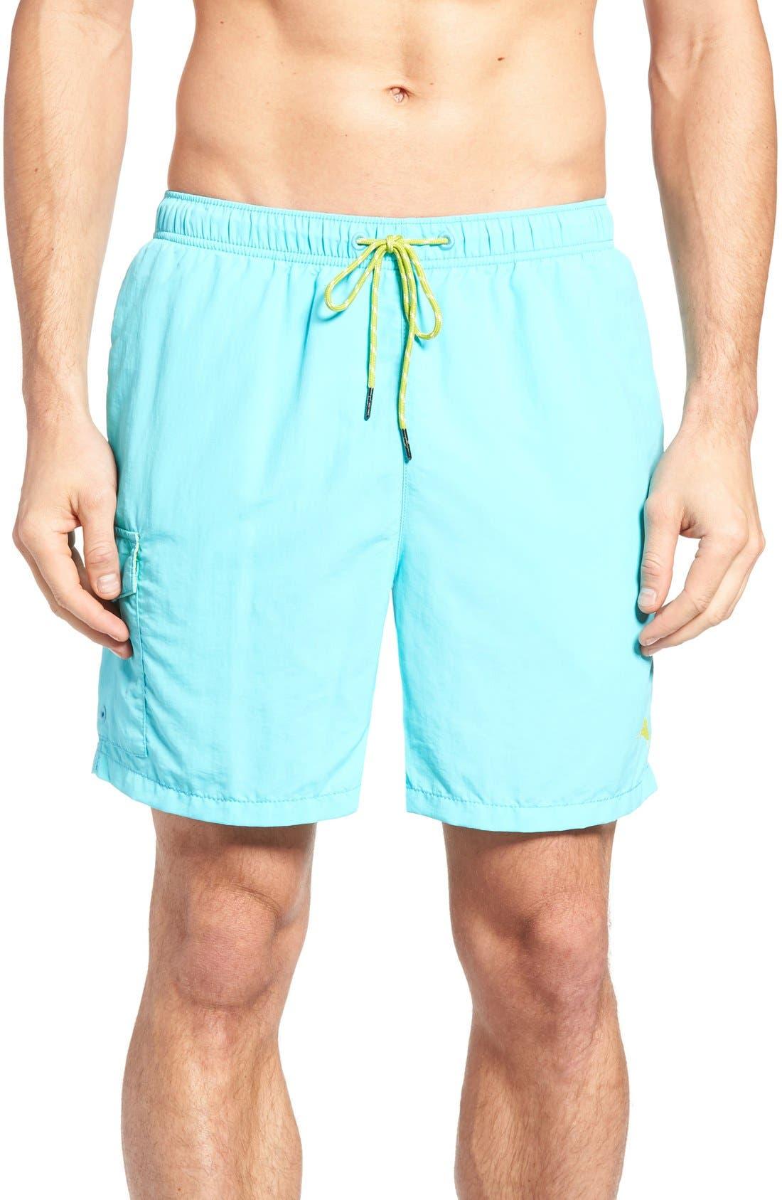 Alternate Image 1 Selected - Tommy Bahama Naples Happy Go Cargo Swim Trunks