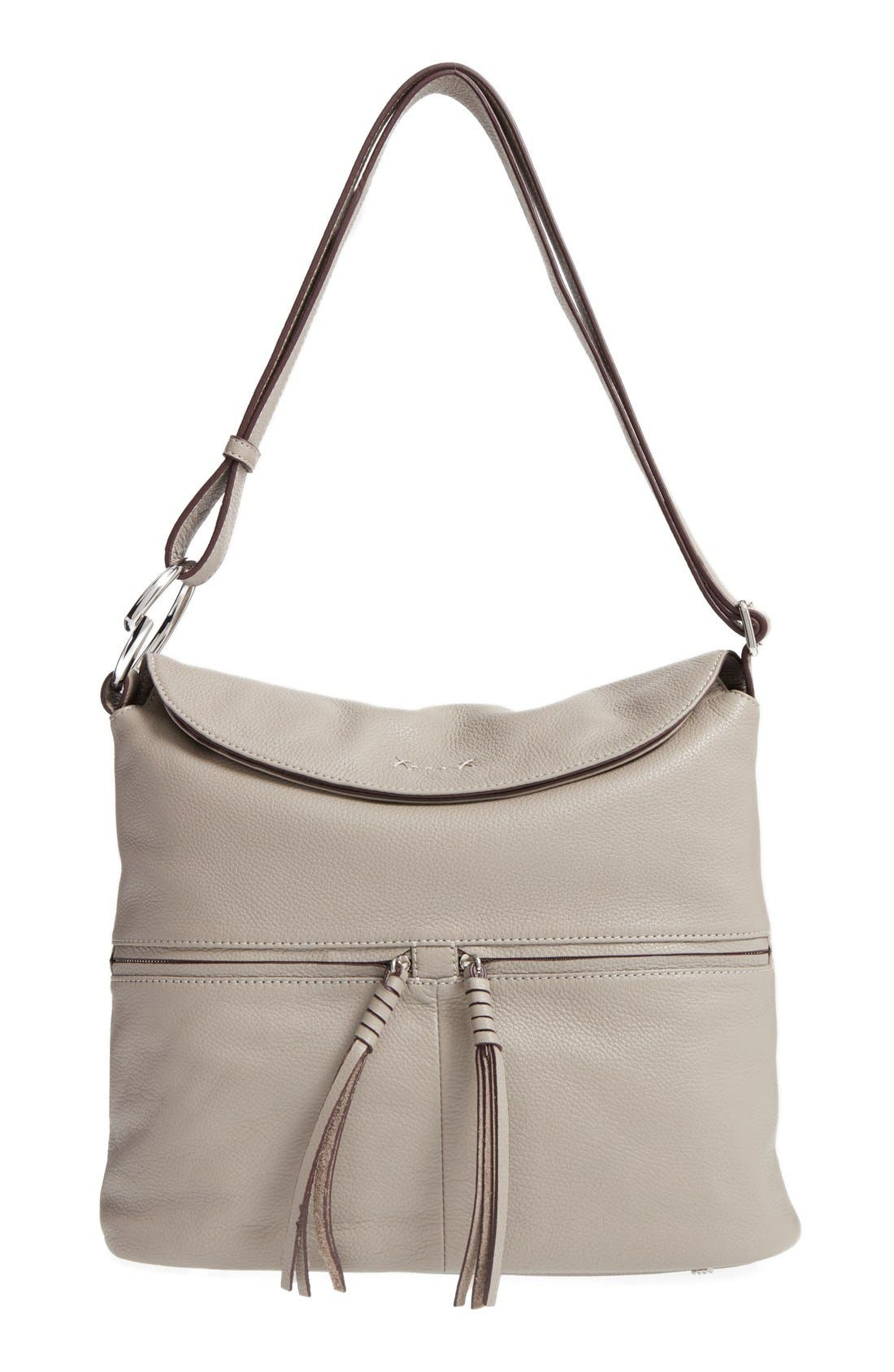 Elizabeth and James Finley Leather Hobo Bag