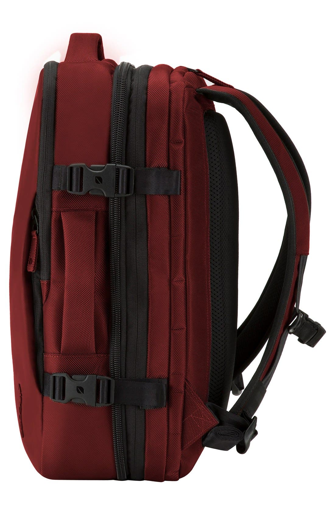 VIA Backpack,                             Alternate thumbnail 4, color,                             Deep Red