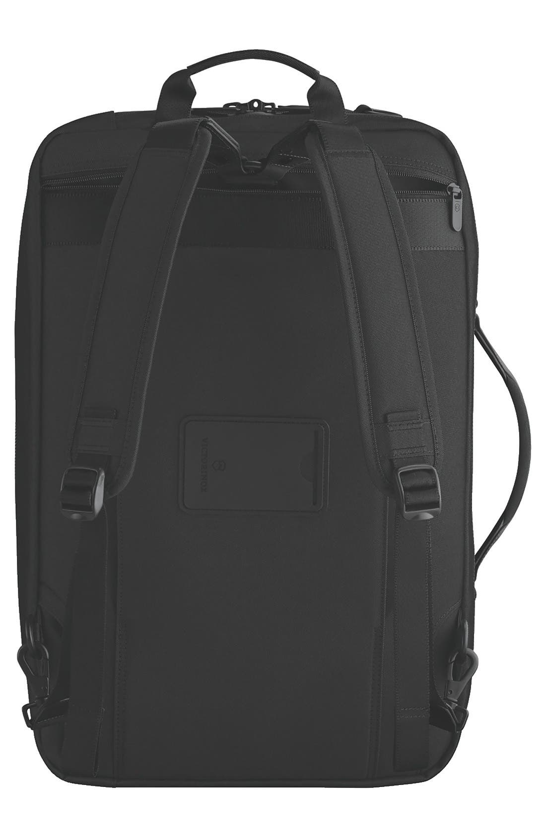 Lexicon 2.0 Convertible Backpack,                             Alternate thumbnail 4, color,                             Black