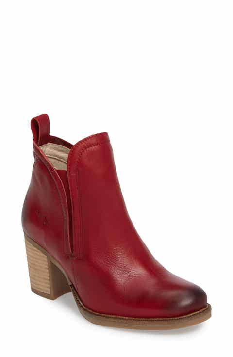 Women S Red Ankle Boots Amp Booties Nordstrom