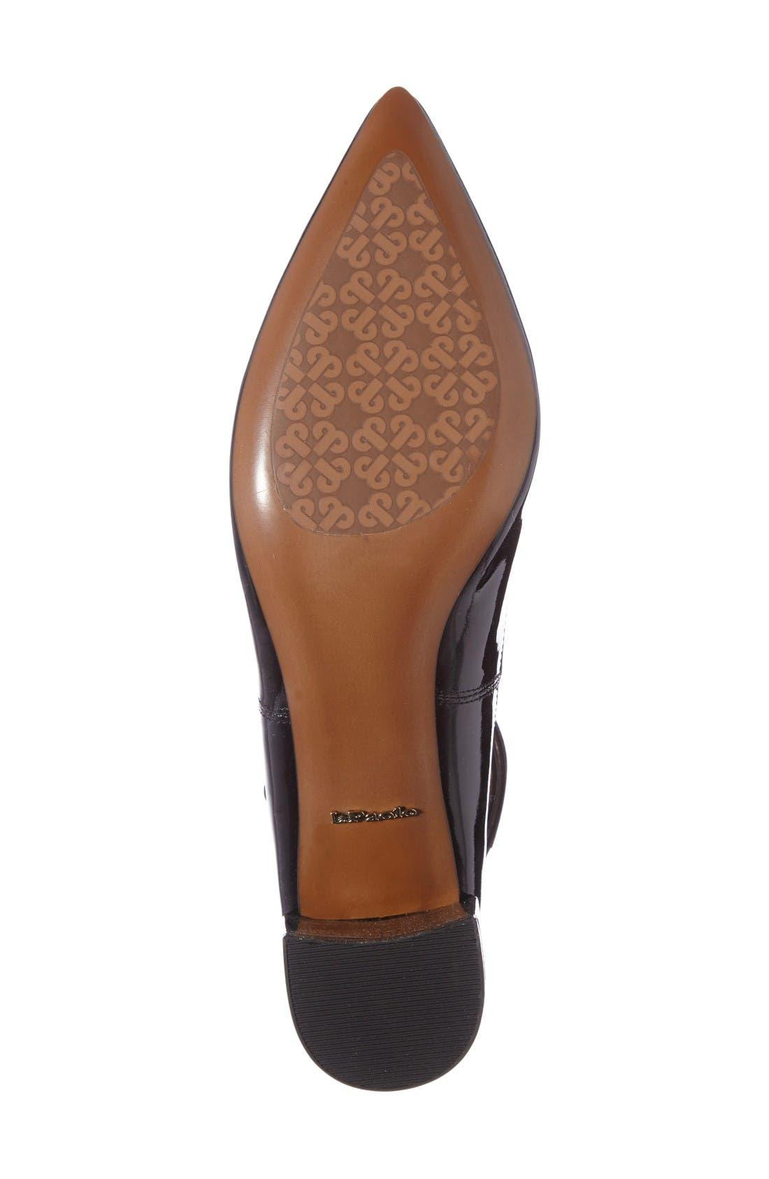 Alternate Image 4  - Linea Paolo 'Noel' Pointy Toe Ankle Strap Pump (Women)