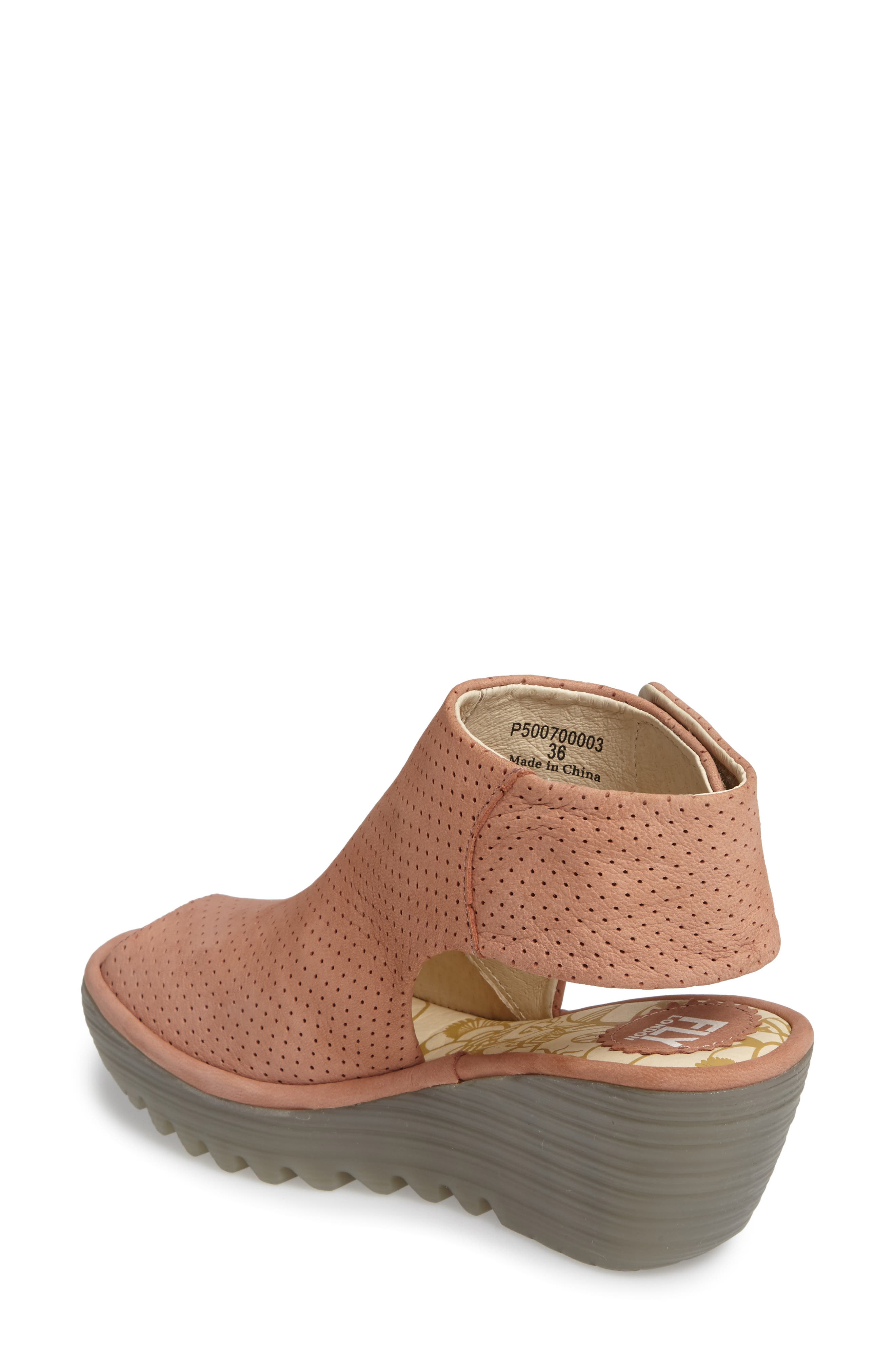 Alternate Image 2  - Fly London Yahl Open Toe Platform Wedge (Women)