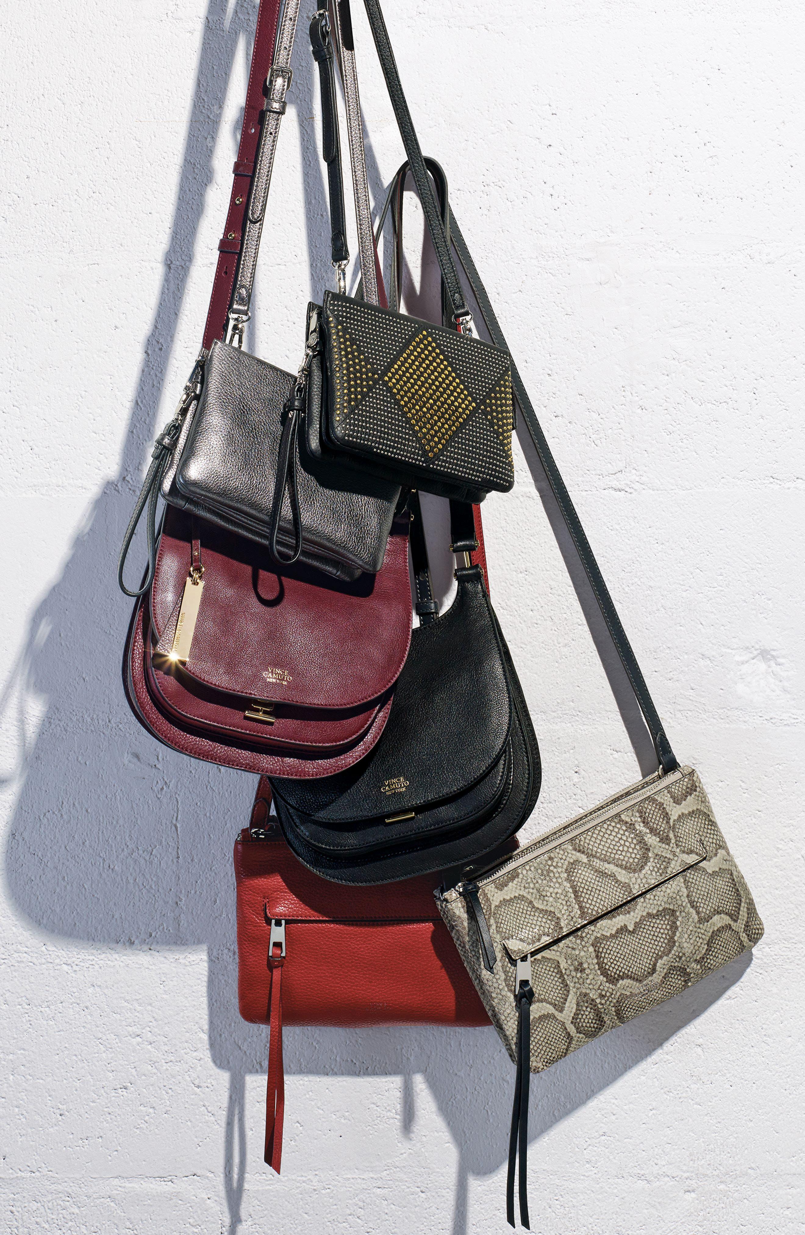 Alternate Image 7  - Vince Camuto 'Cami' Leather Crossbody Bag