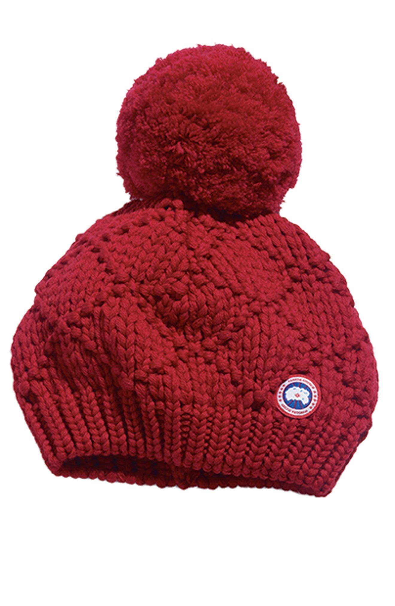 Alternate Image 4  - Canada Goose Pom Merino Wool Beanie