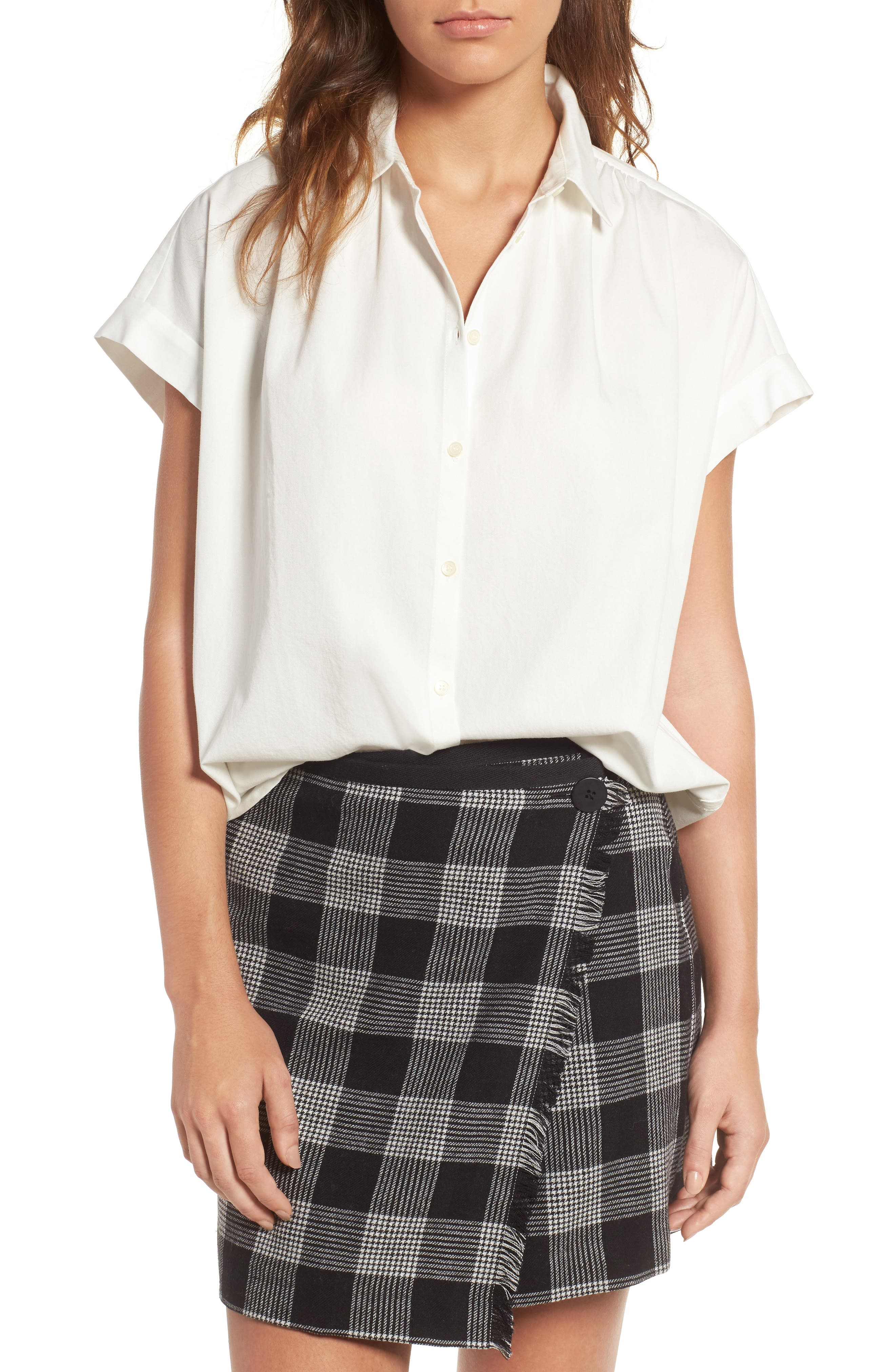 Alternate Image 1 Selected - Madewell Central Blouse